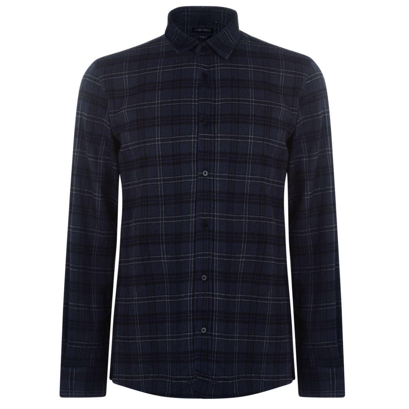 Antony Morato Long Sleeve Checked Shirt