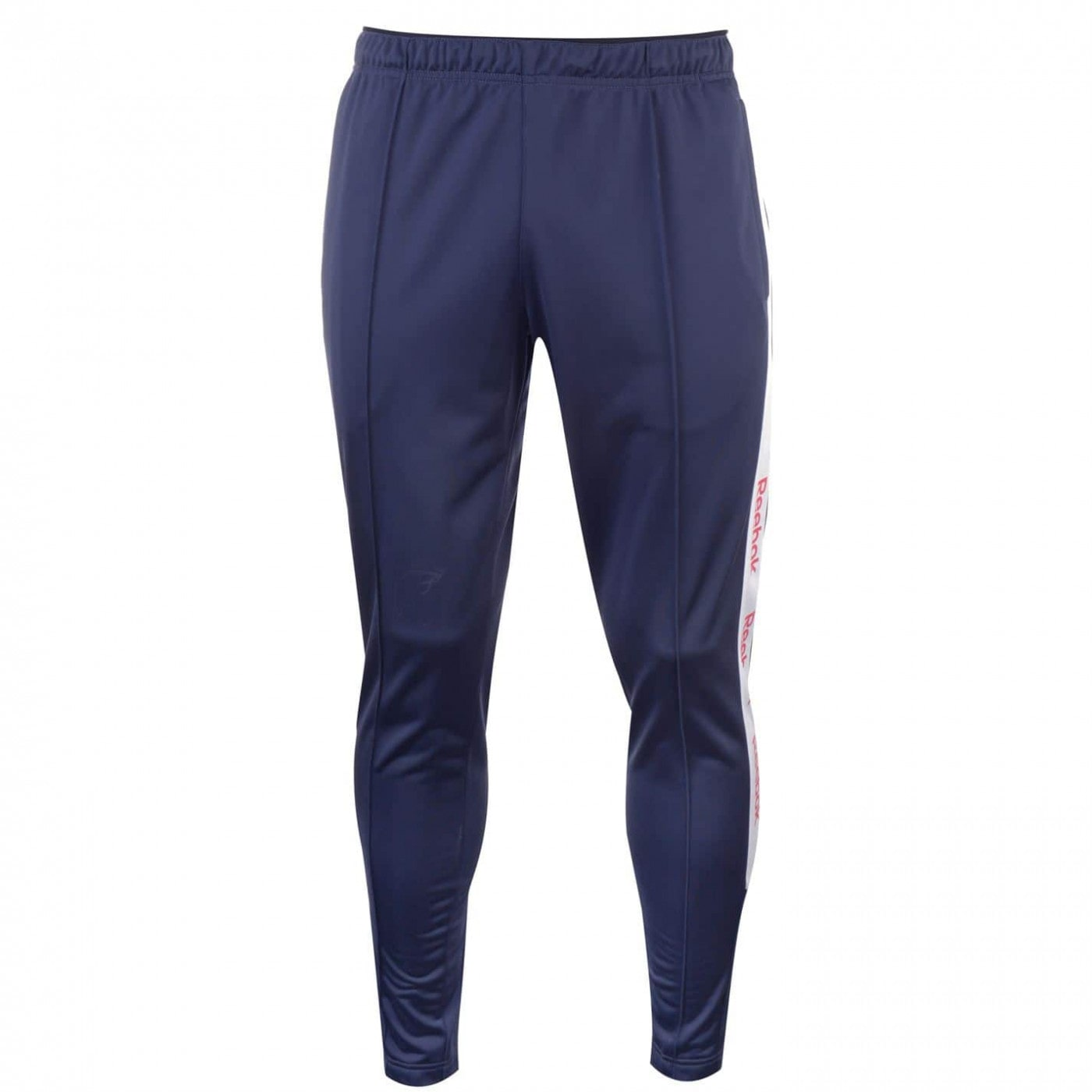 Reebok Taped Trackster Tracksuit Bottoms Mens