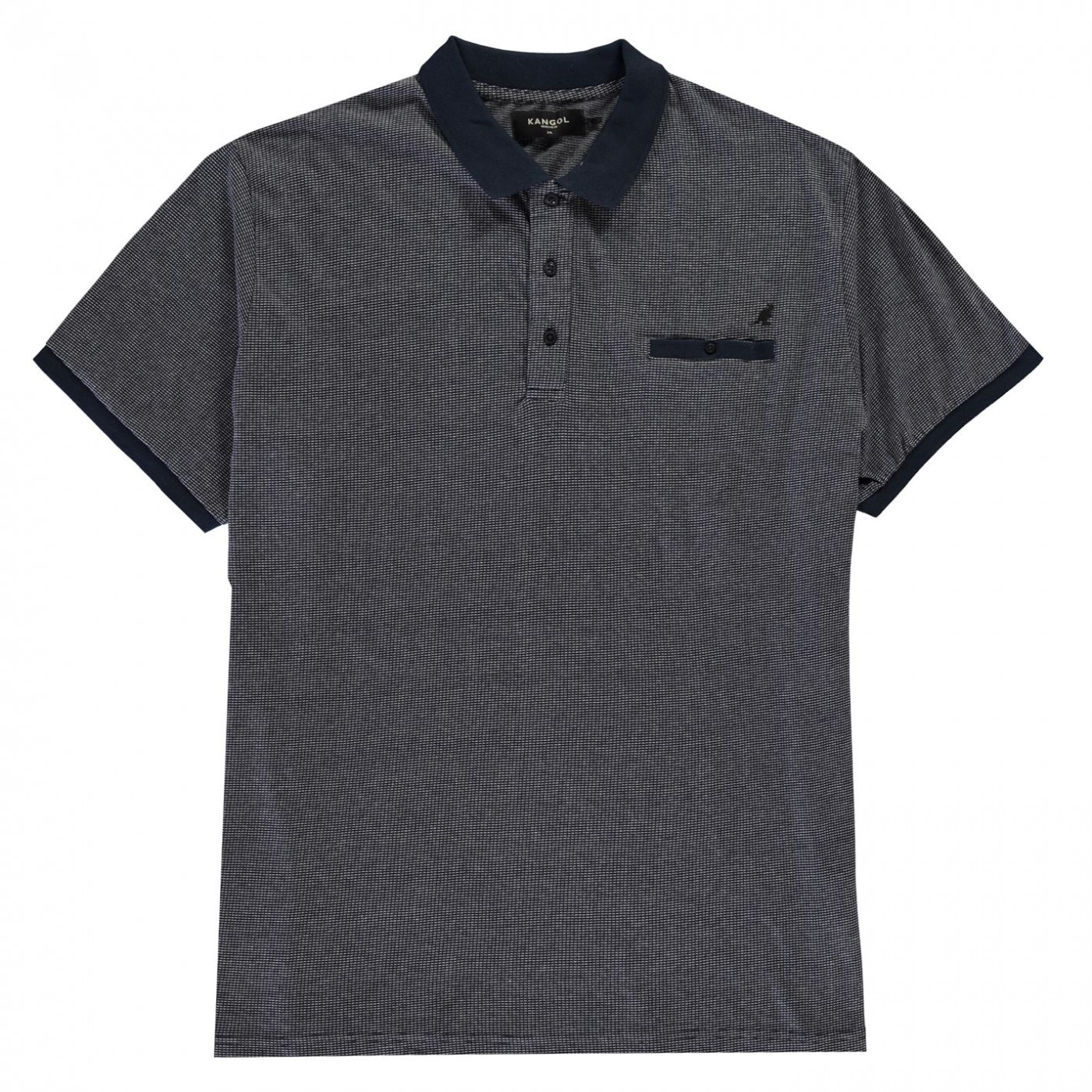 Kangol XL Huxley Polo Shirt Mens