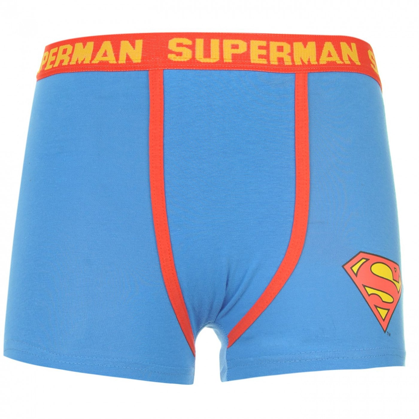 DC Comics Superman Single Boxer Shorts Junior