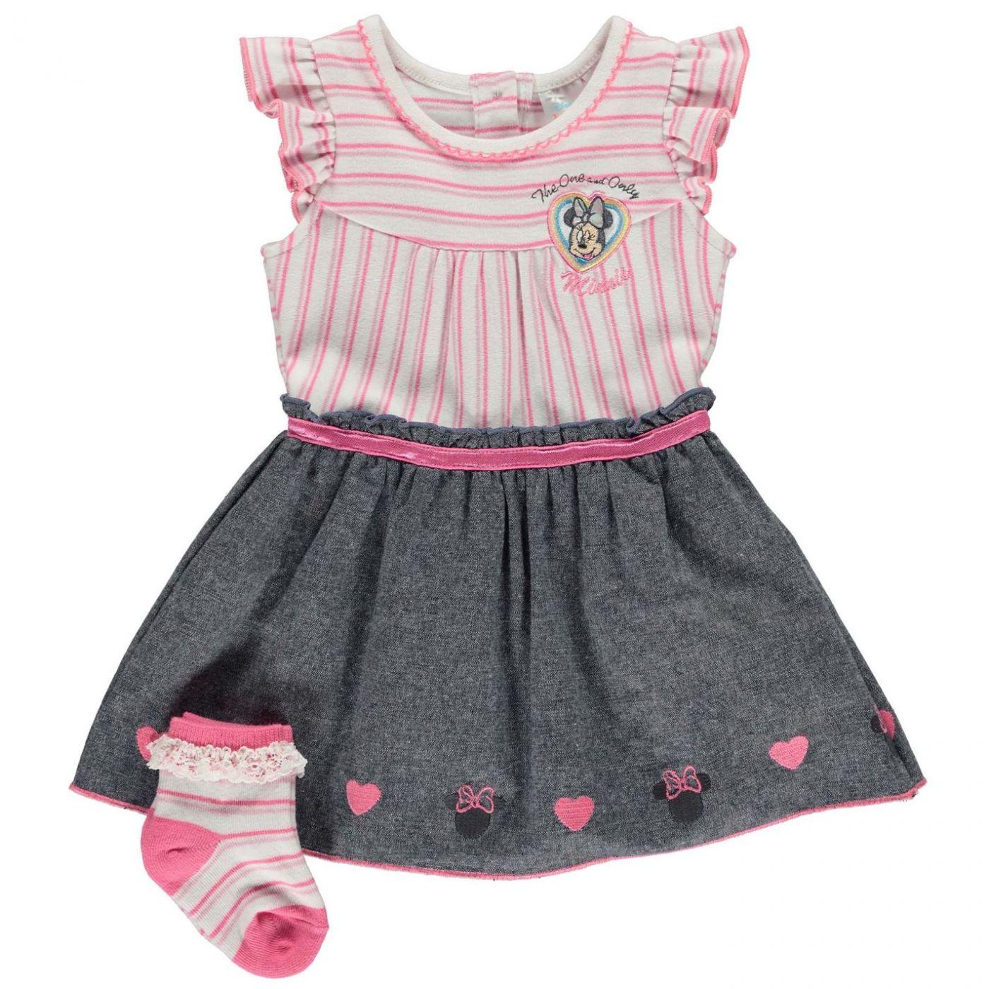 Character 2 Piece Dress Set Baby Girls