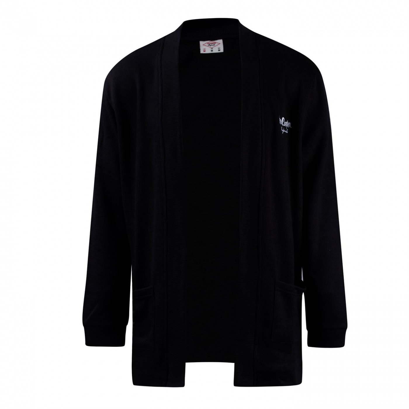Lee Cooper Rib Cardigan Mens