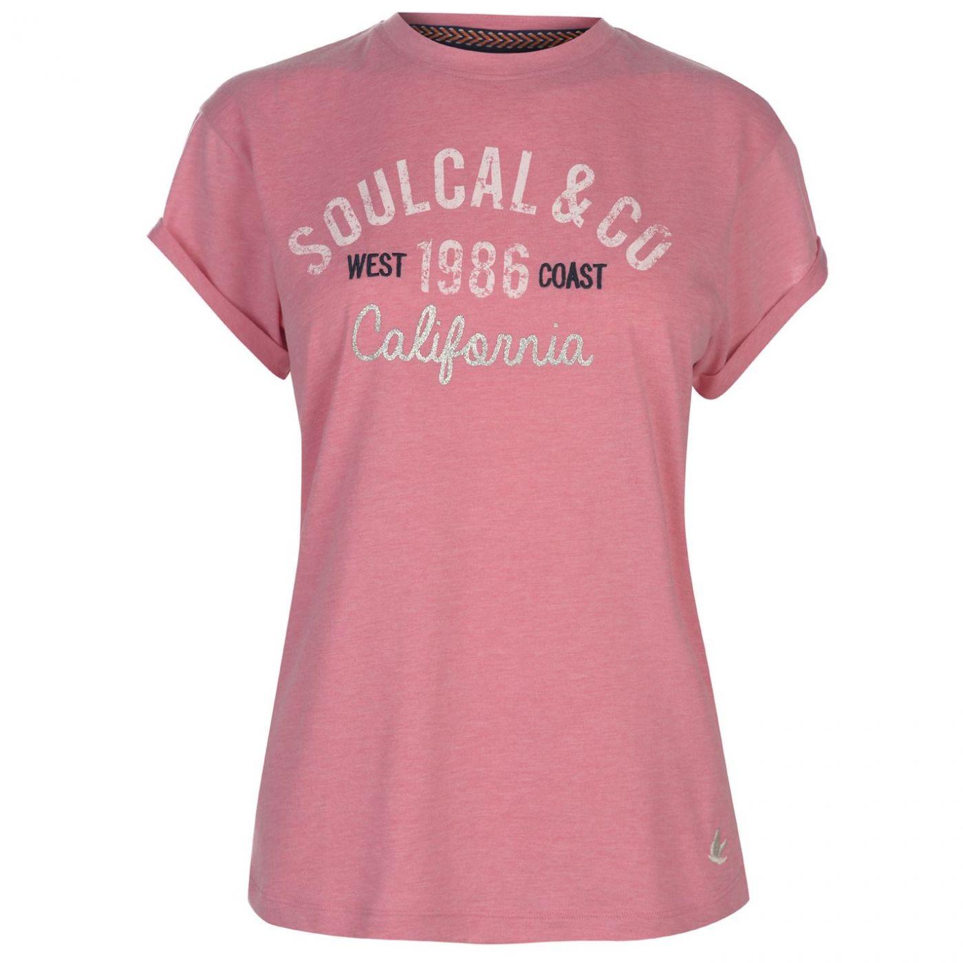 SoulCal Logo T Shirt Ladies