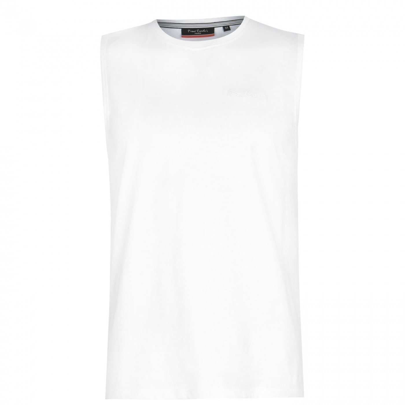 Pierre Cardin Embroidered Sleeveless T Shirt Mens