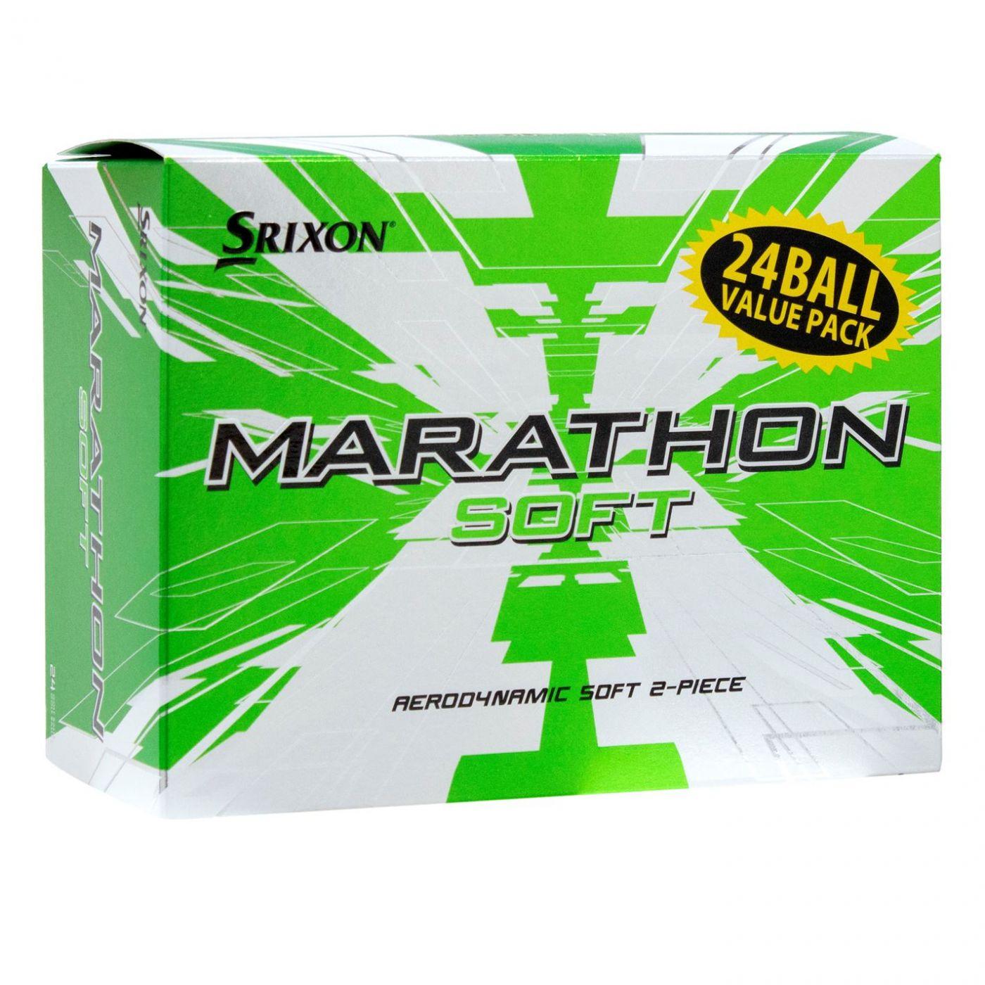 Srixon Marathon Soft Golf Balls 24 Pack