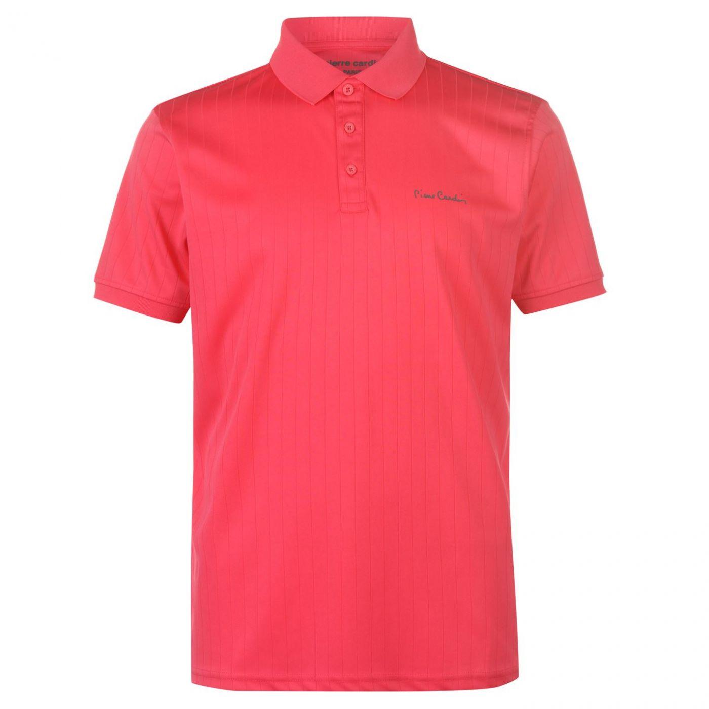 Pierre Cardin Sports Poly Polo Shirt Mens