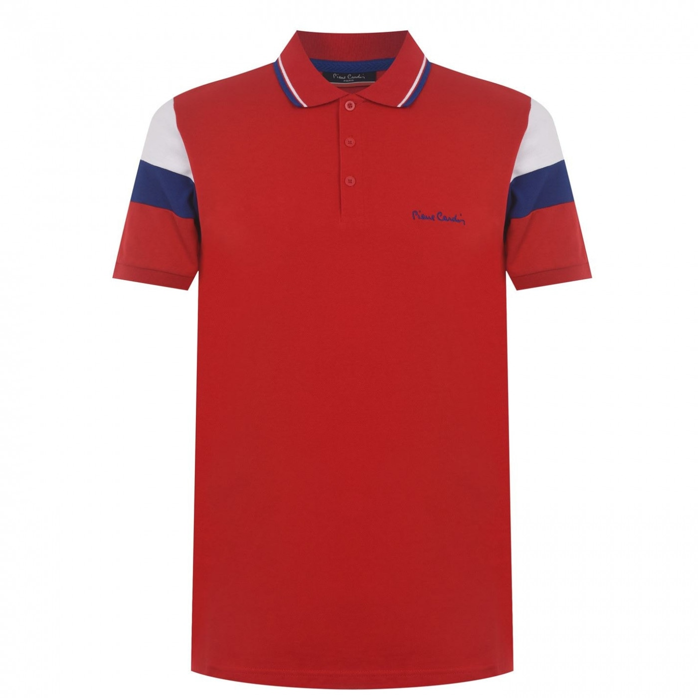 Pierre Cardin Cut and Sew Sleeve Polo Mens