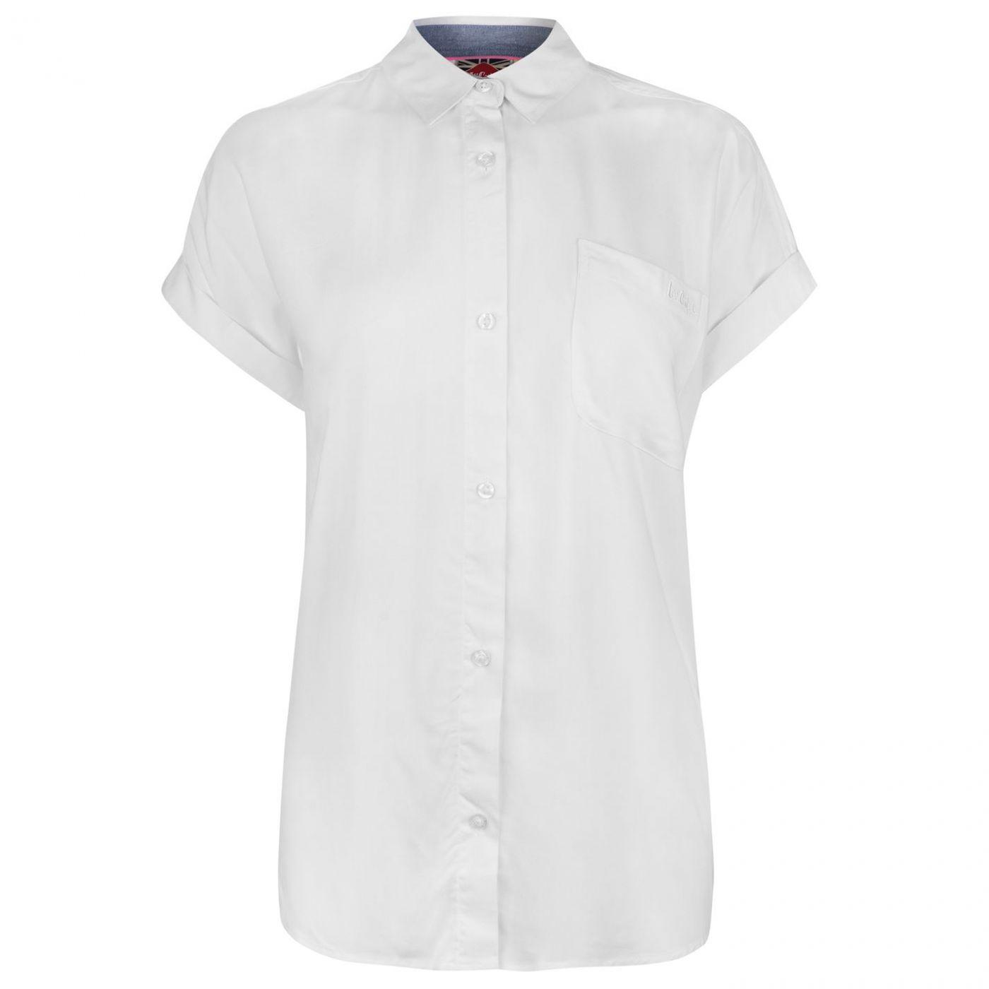 Lee Cooper Short Sleeve Shirt Ladies