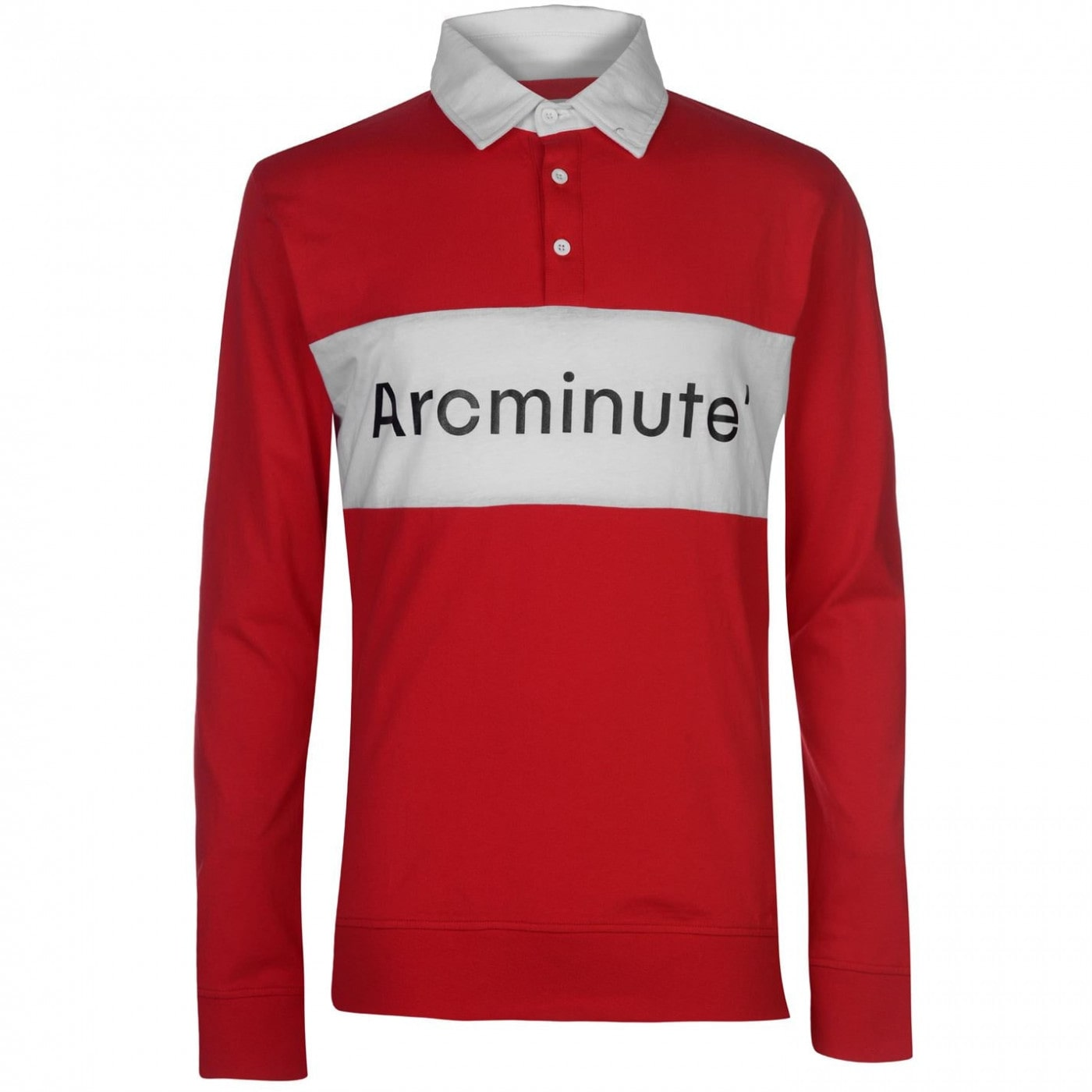 Arcminute Funnel Long Sleeve Polo