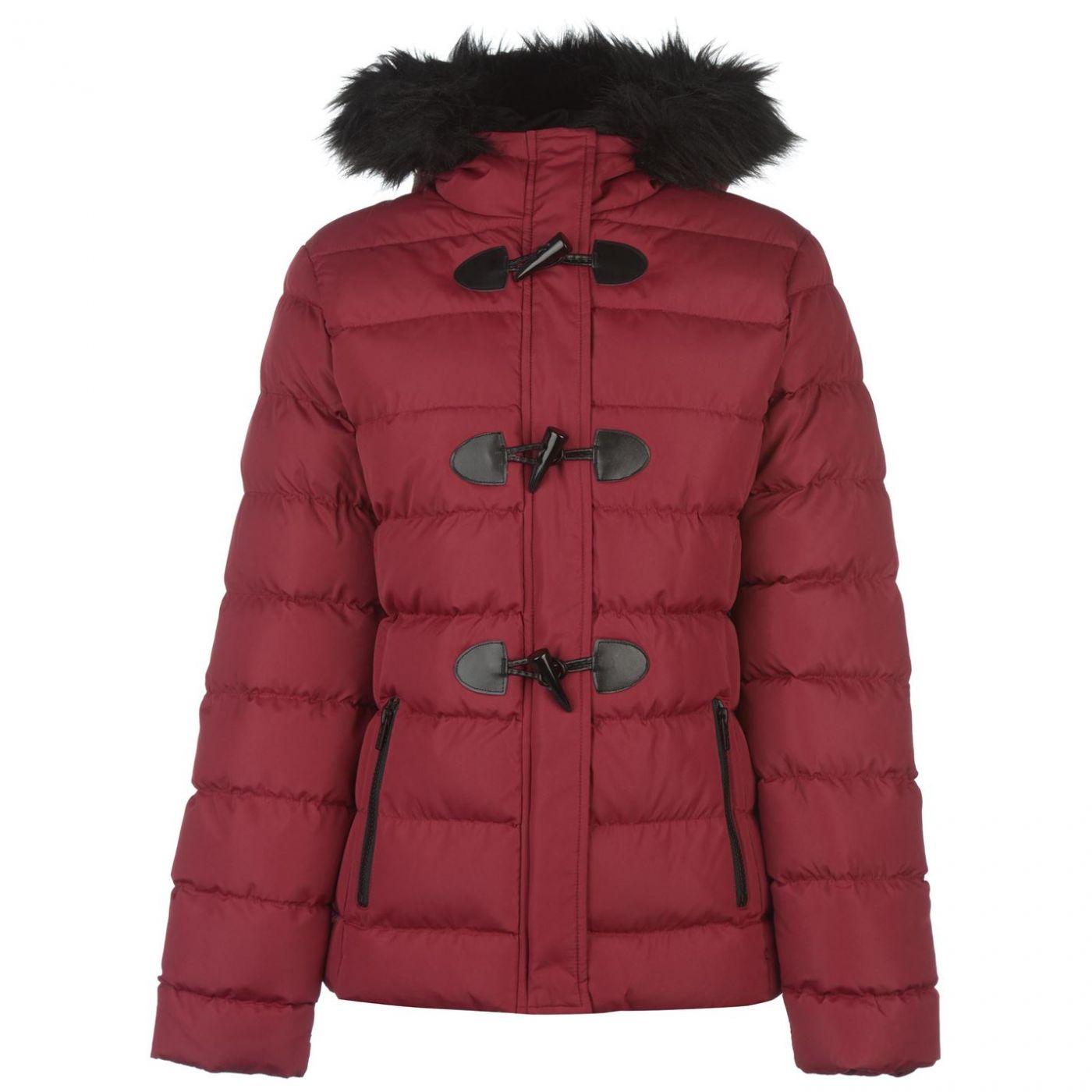 Lee Cooper Toggle Jacket Ladies