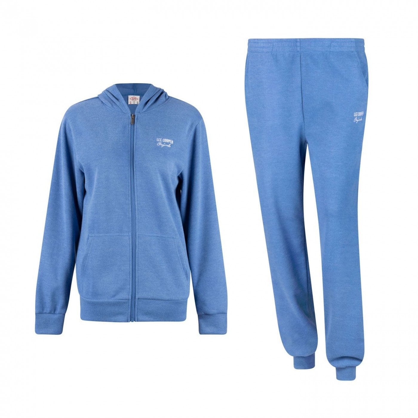 Lee Cooper Rib Jog Suit Ladies