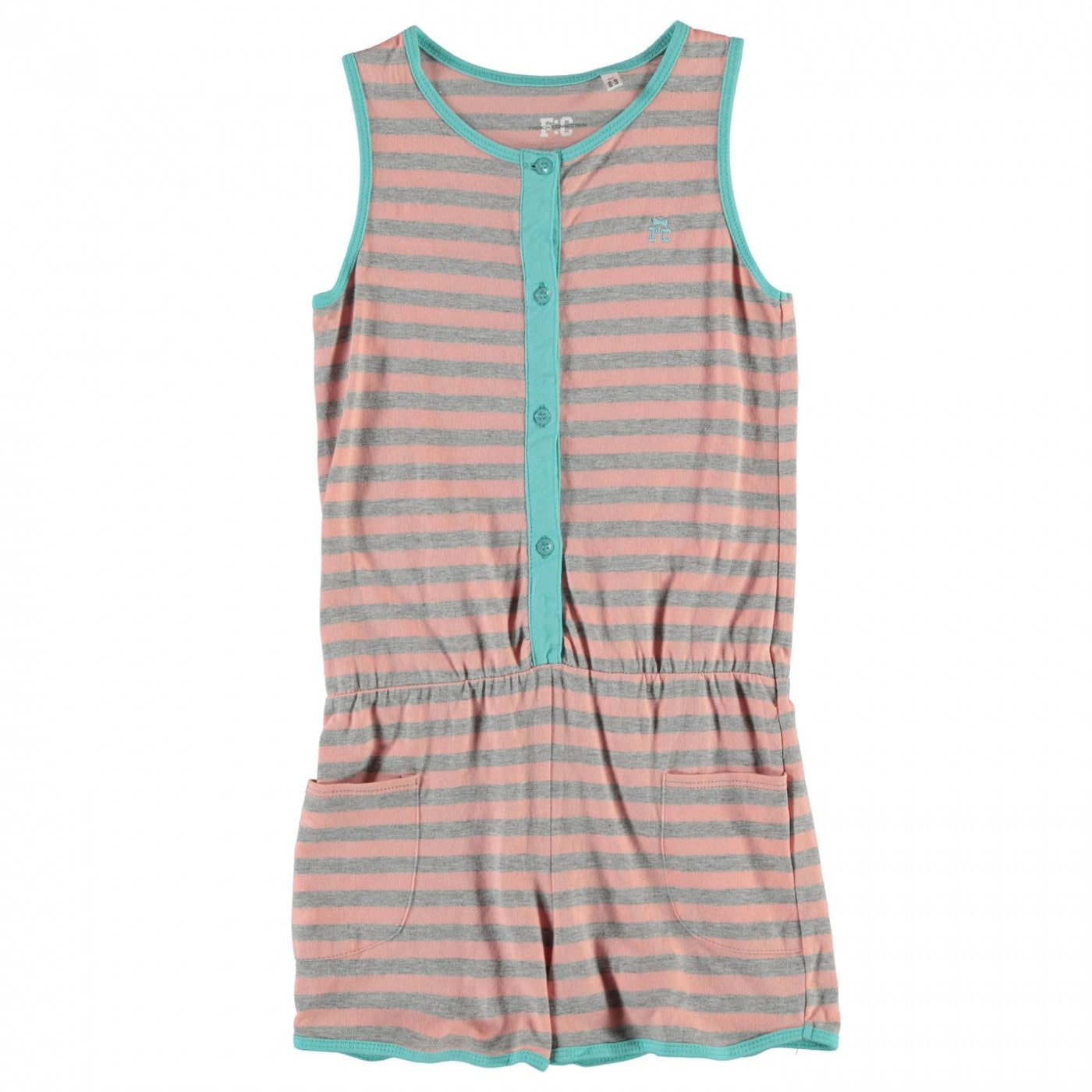 French Connection Stripe Playsuit