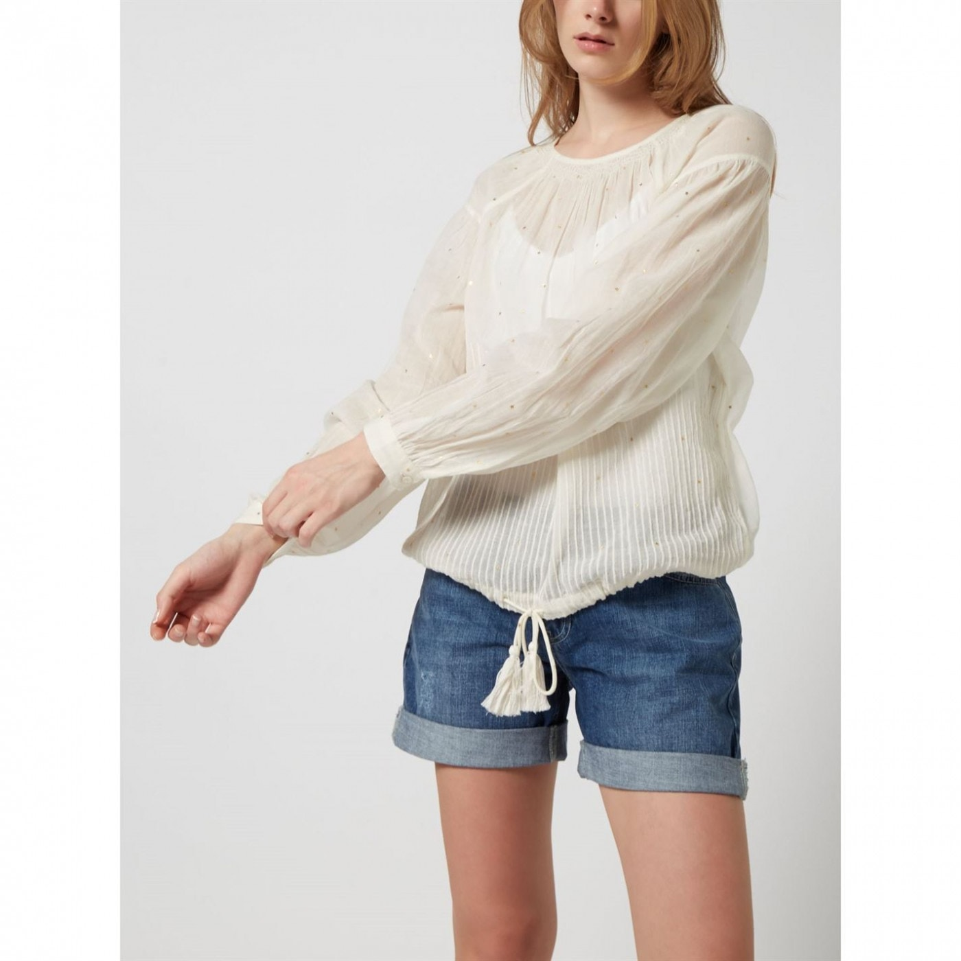 Woven Tops Star Blouse