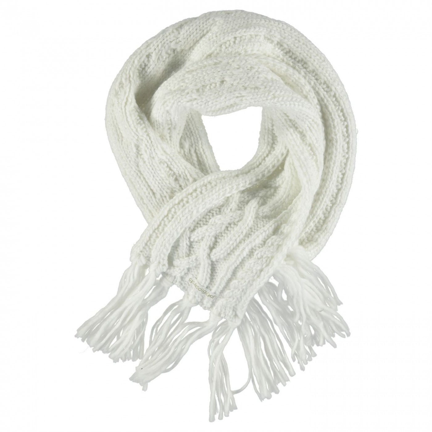 Golddigga Cable Knit Scarf Ladies