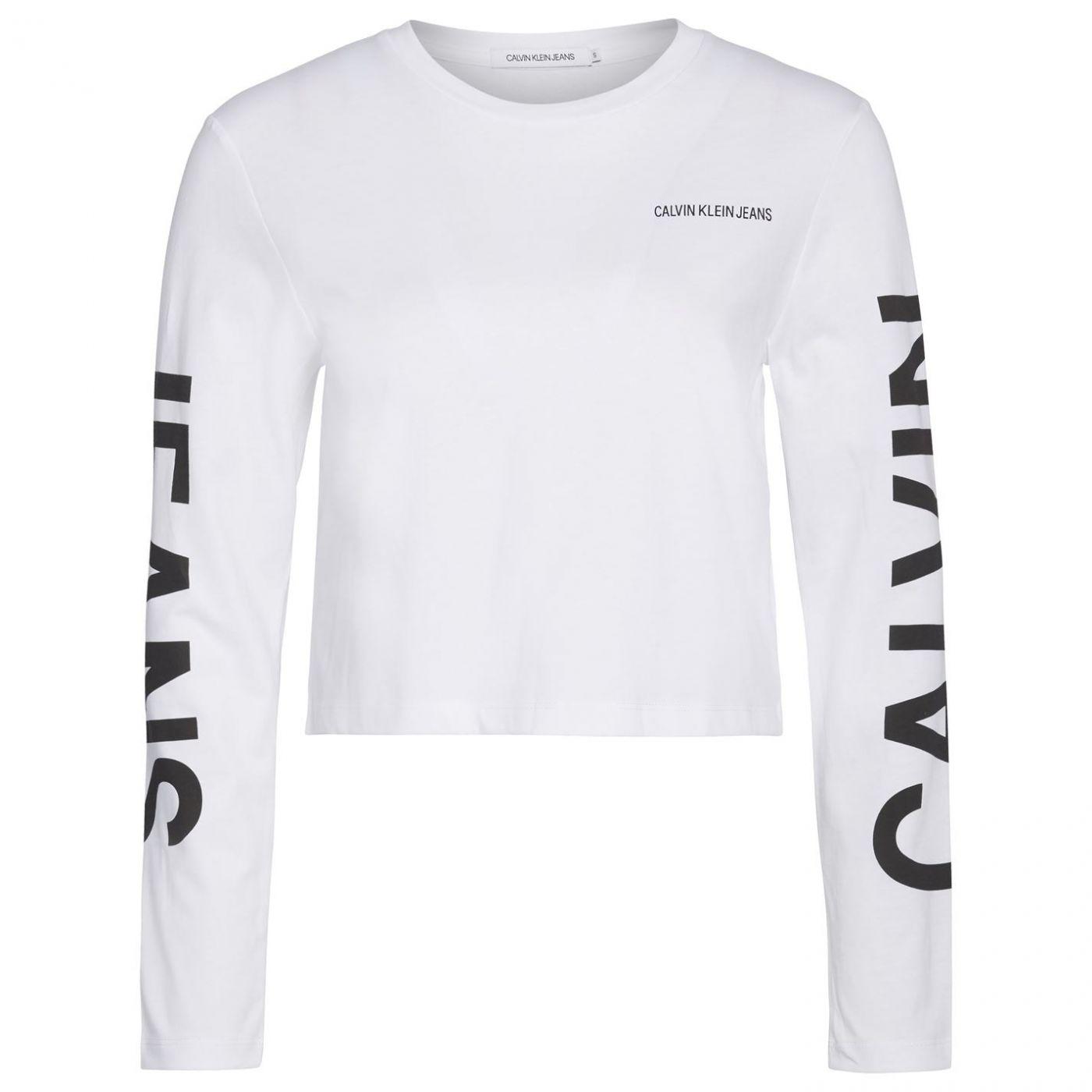 Calvin Klein Jeans Institutional Back Logo Long Sleeve T Shirt