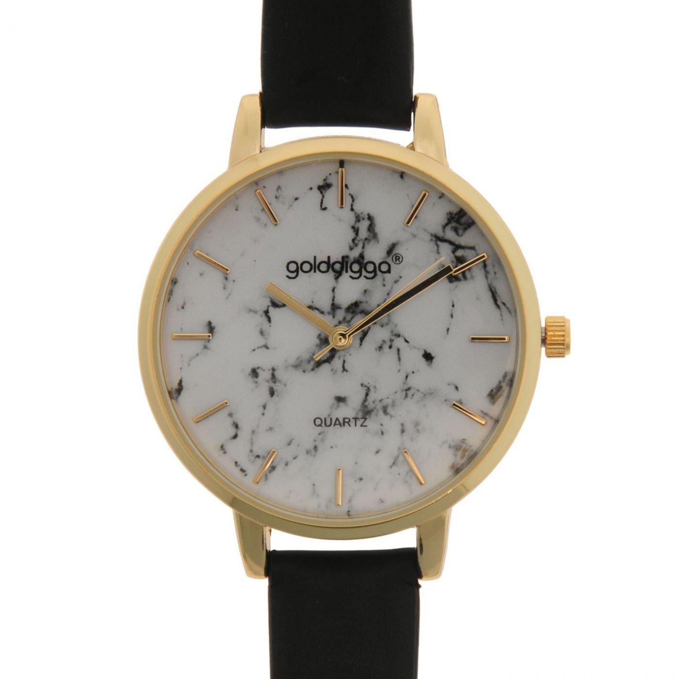 Golddigga Quartz Marble Watch Ladies