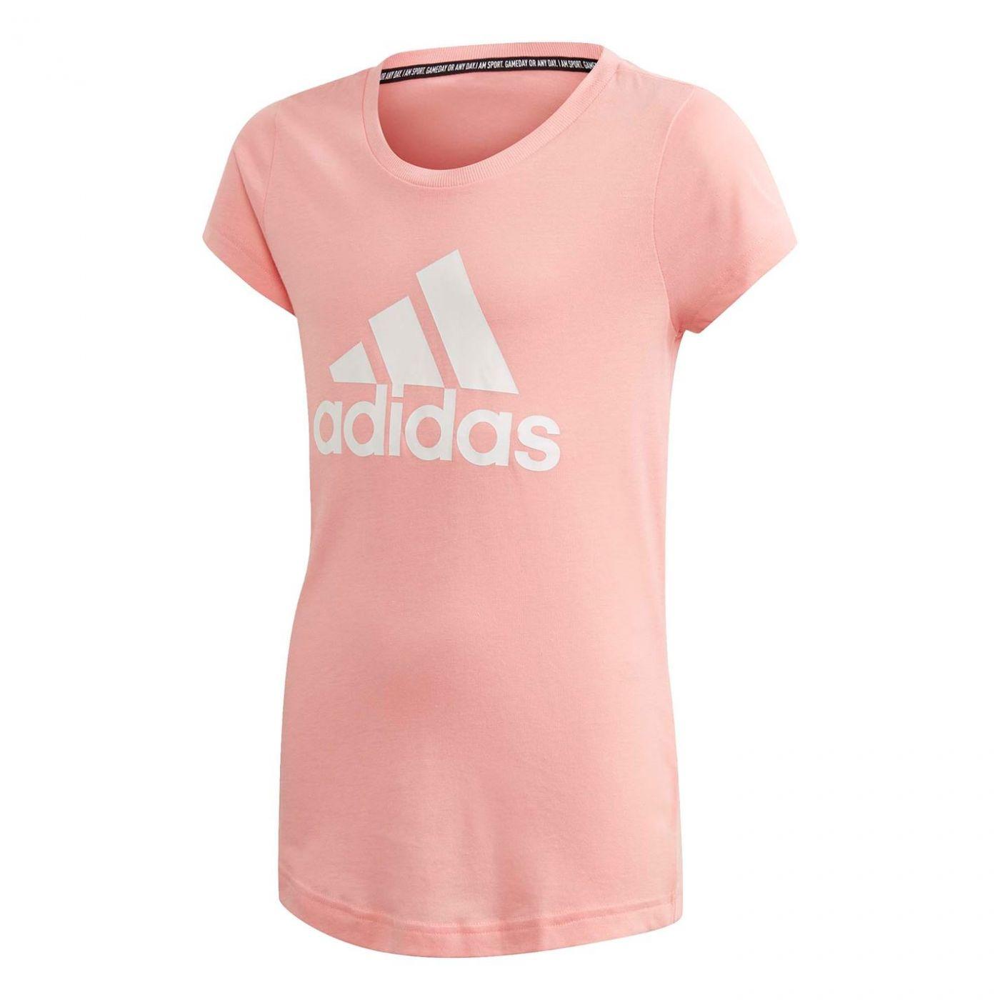 Adidas Must Haves Badge of Sport T Shirt Junior Girls