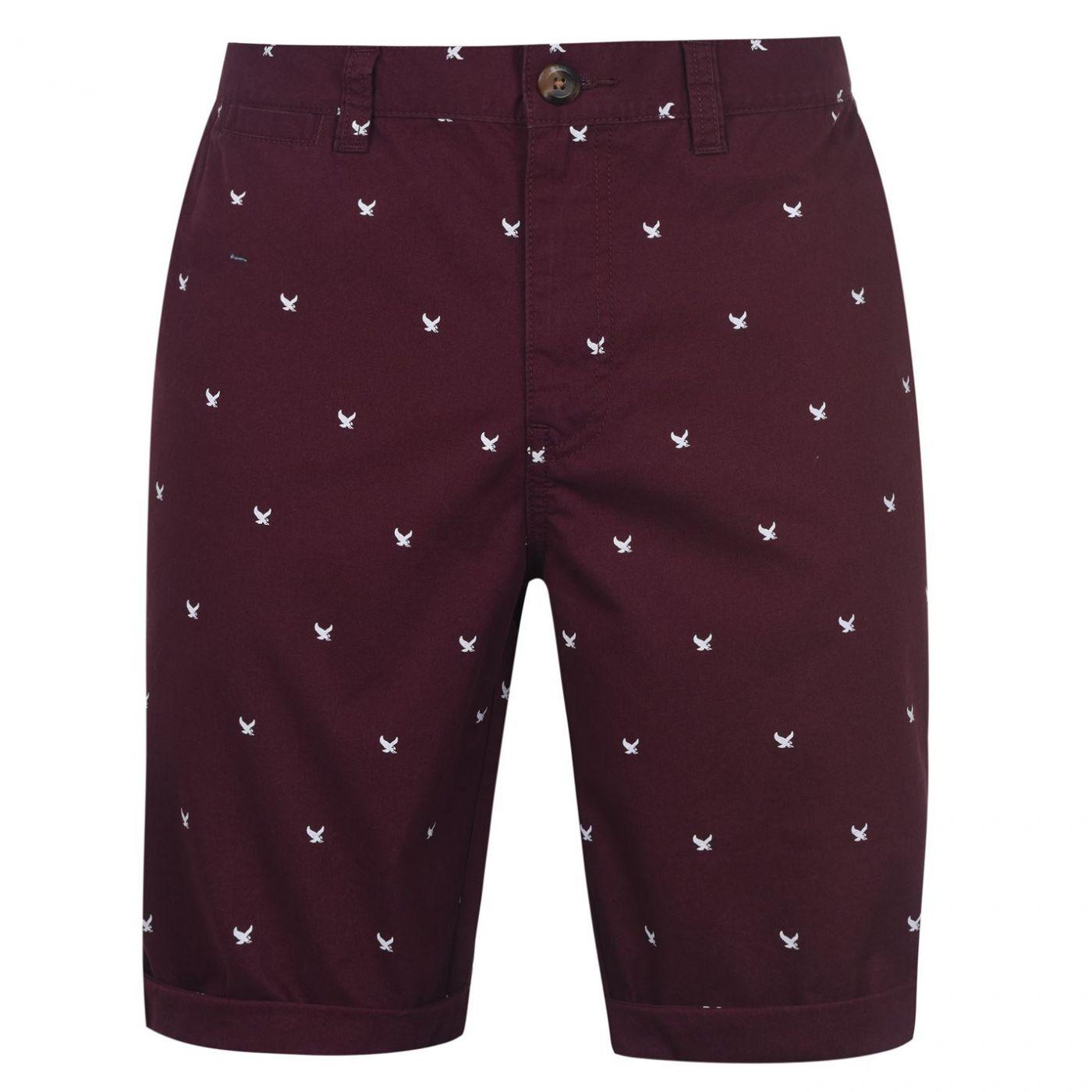 SoulCal AOP Chino Shorts Mens