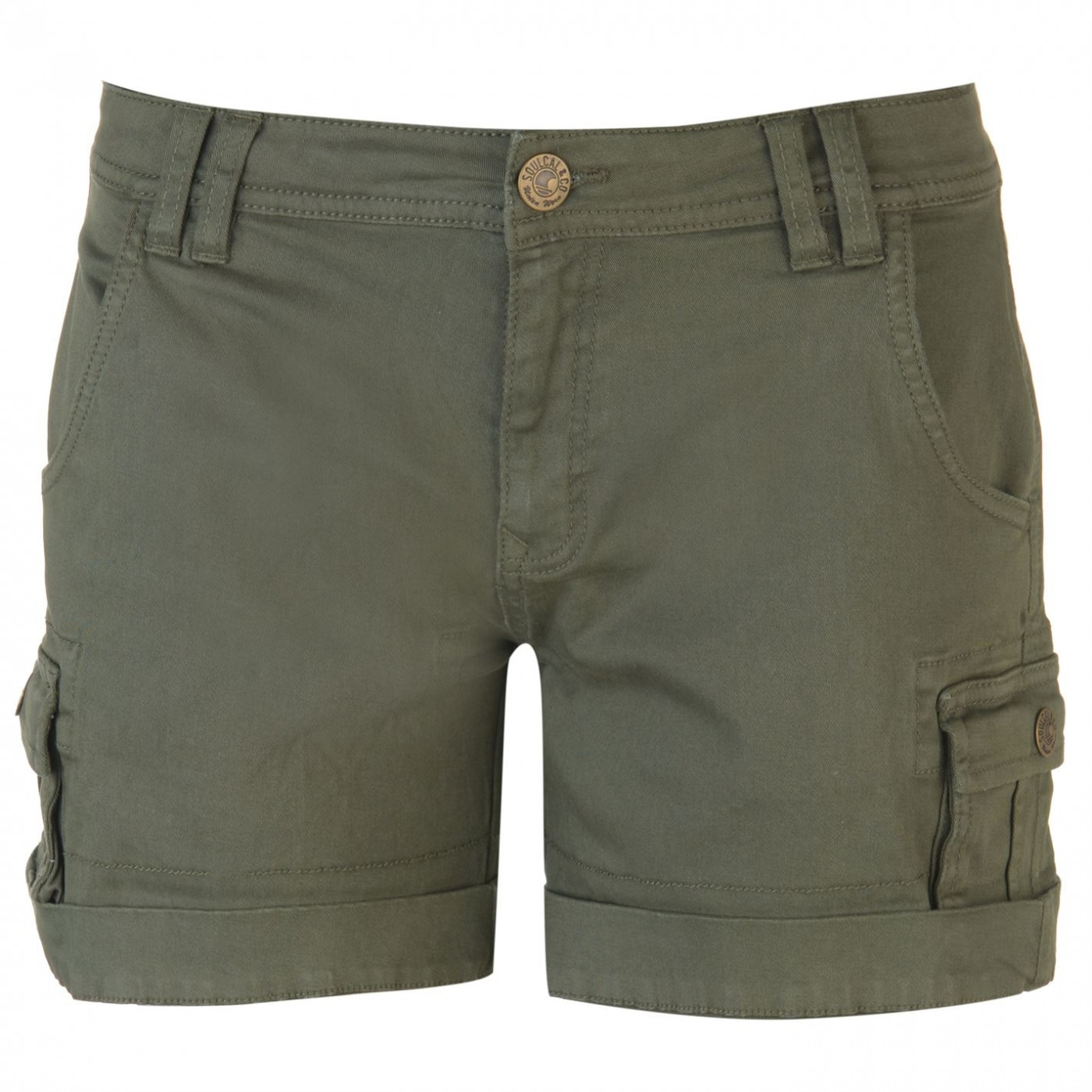 SoulCal Cargo Shorts Ladies