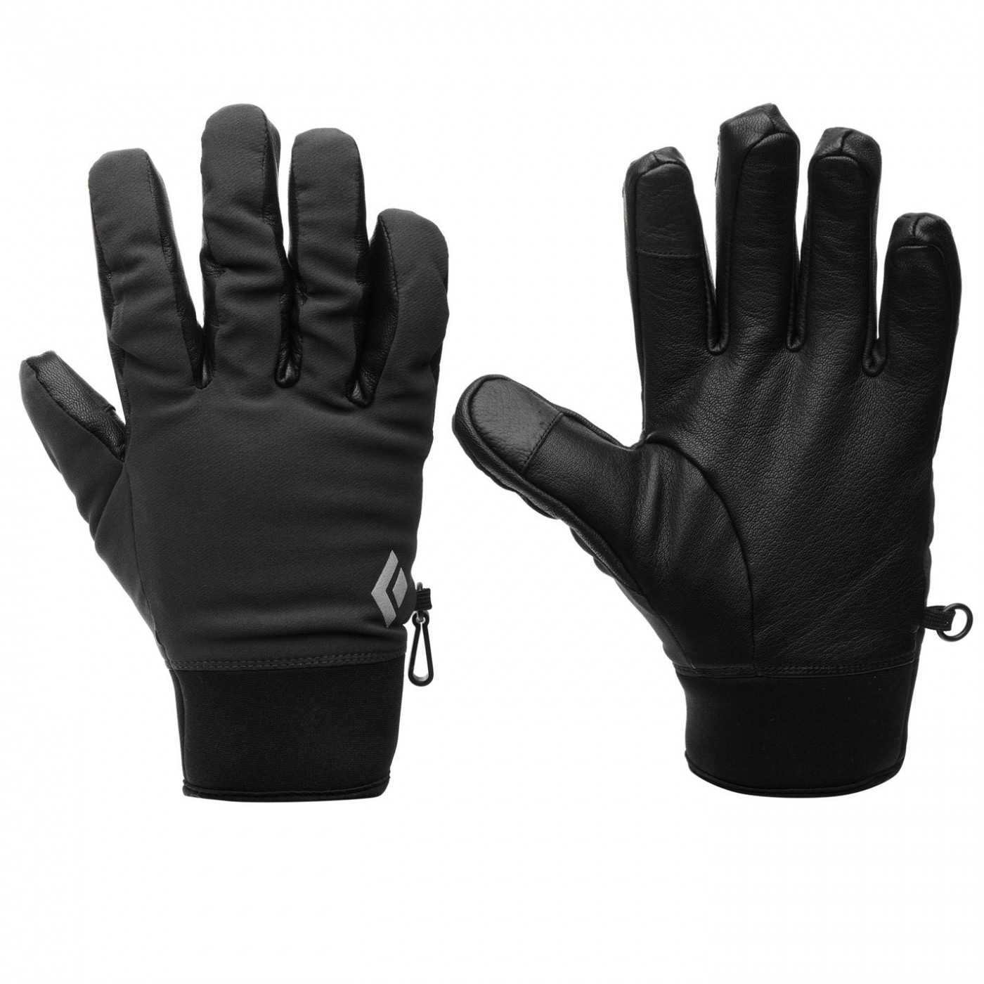Black Diamond Softshell Skiing Gloves