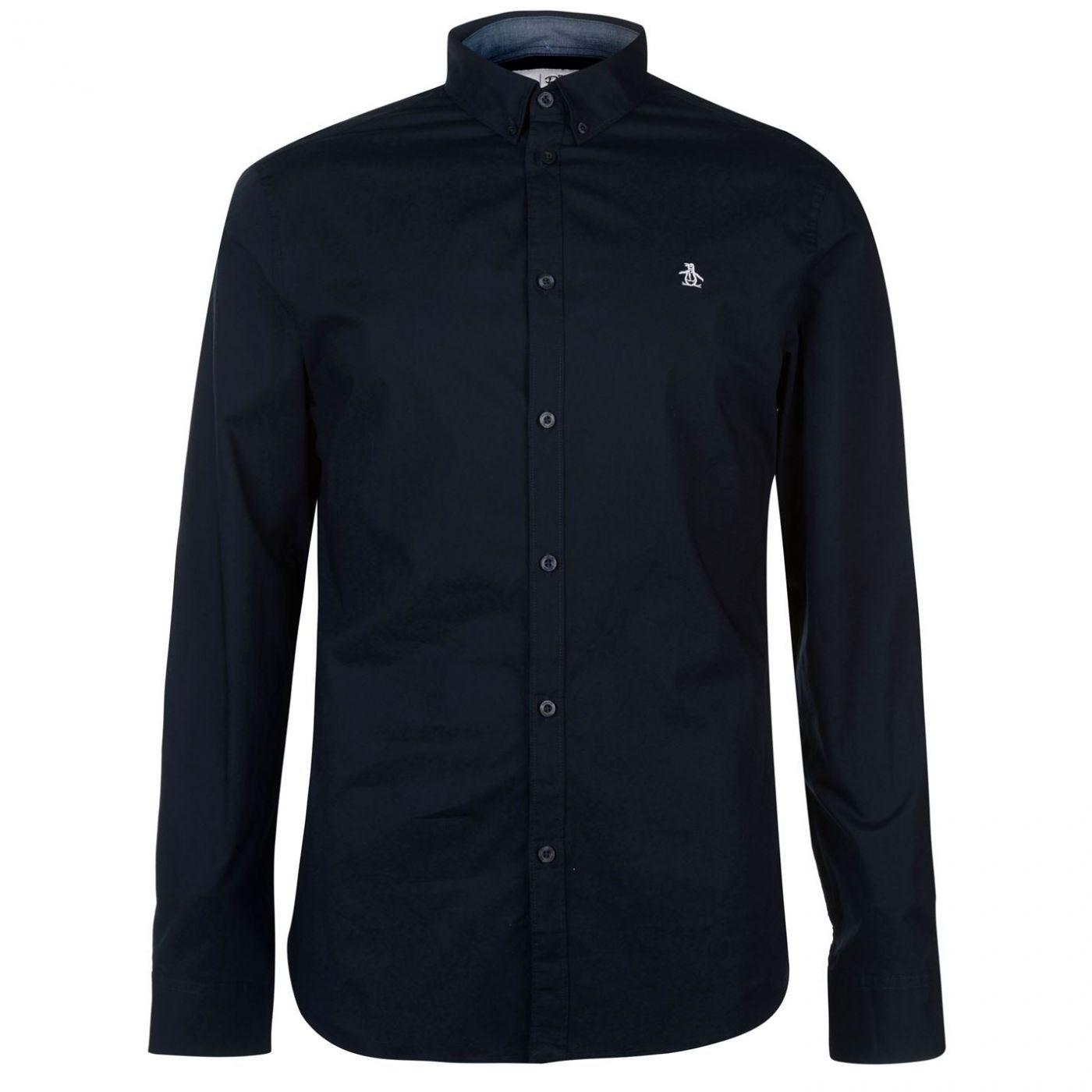 Original Penguin Original Poplin Long Sleeve Shirt