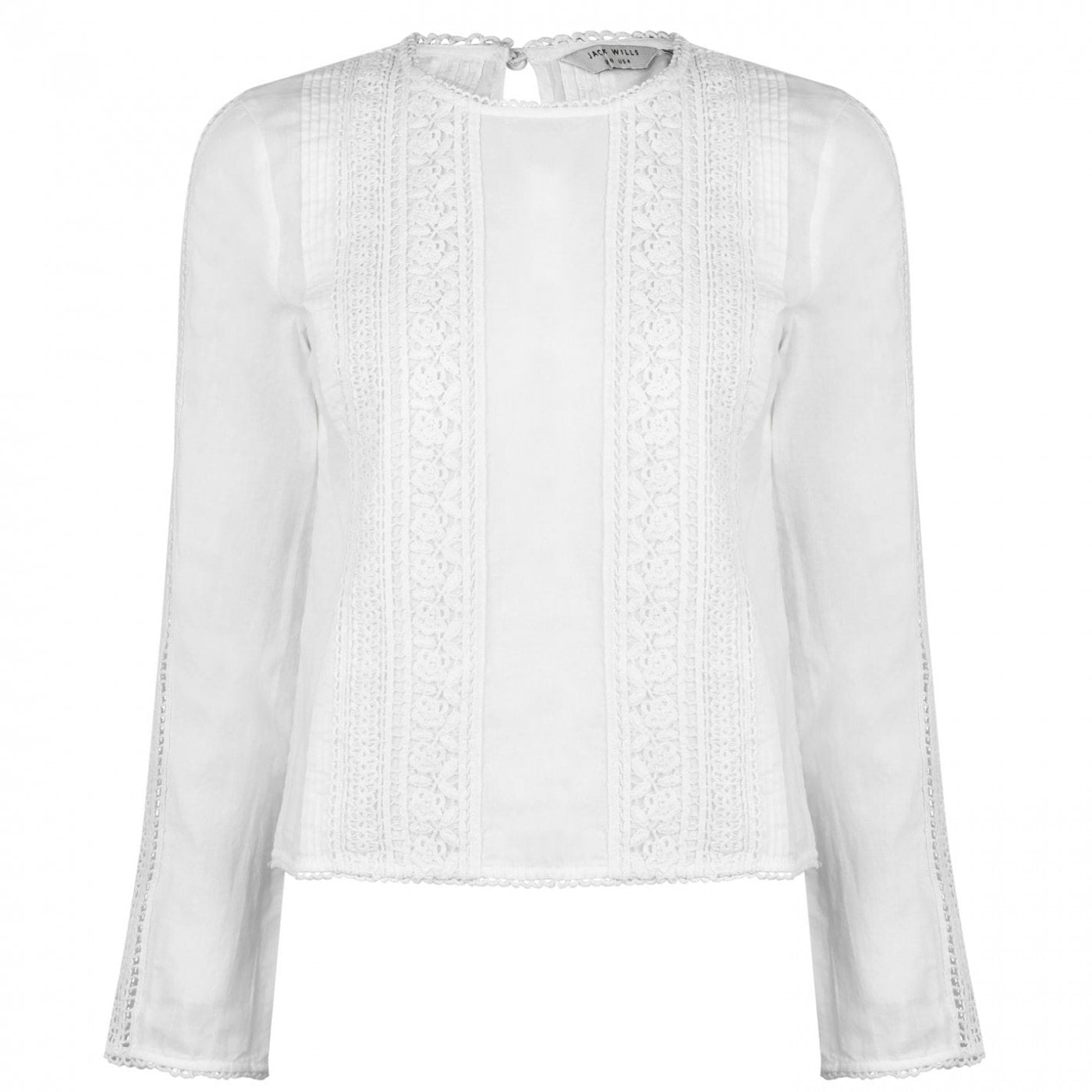 Jack Wills Marygold Lace Top