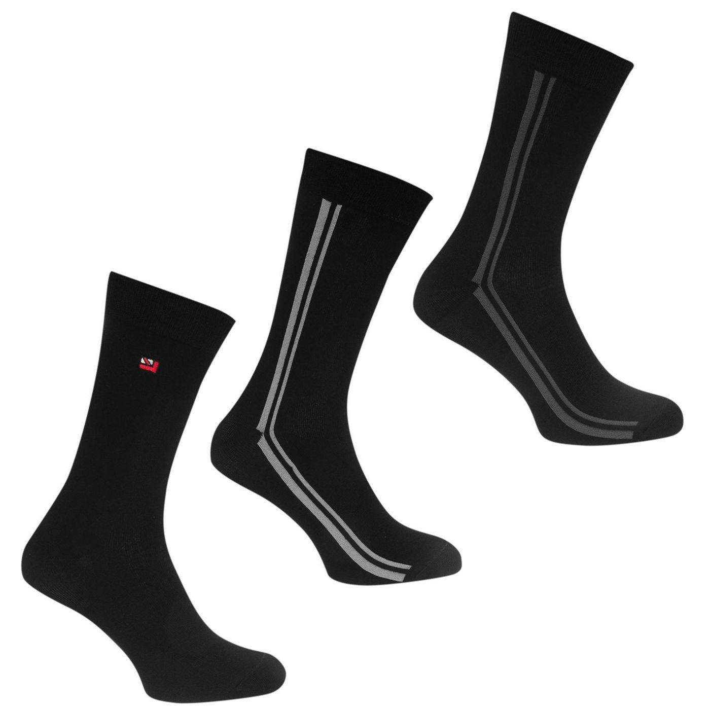 Ben Sherman 3 Pack Socks Mens