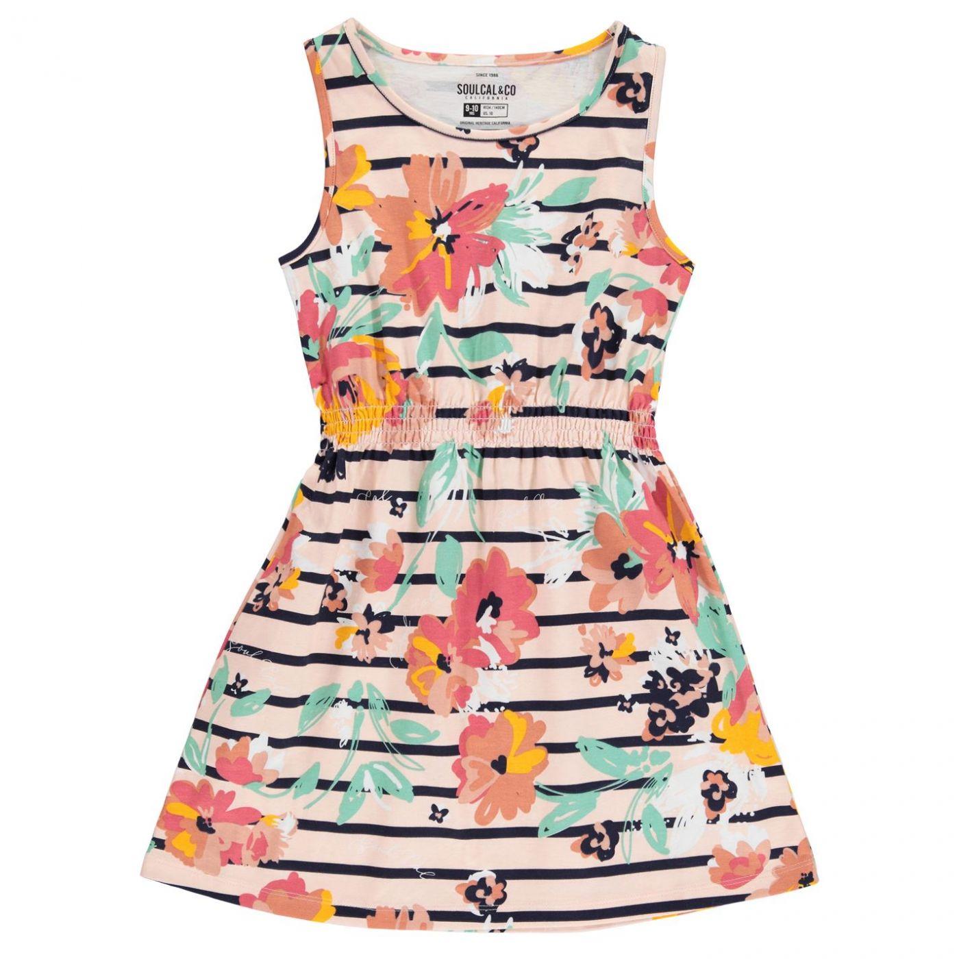 SoulCal Jersey Dress Junior Girls
