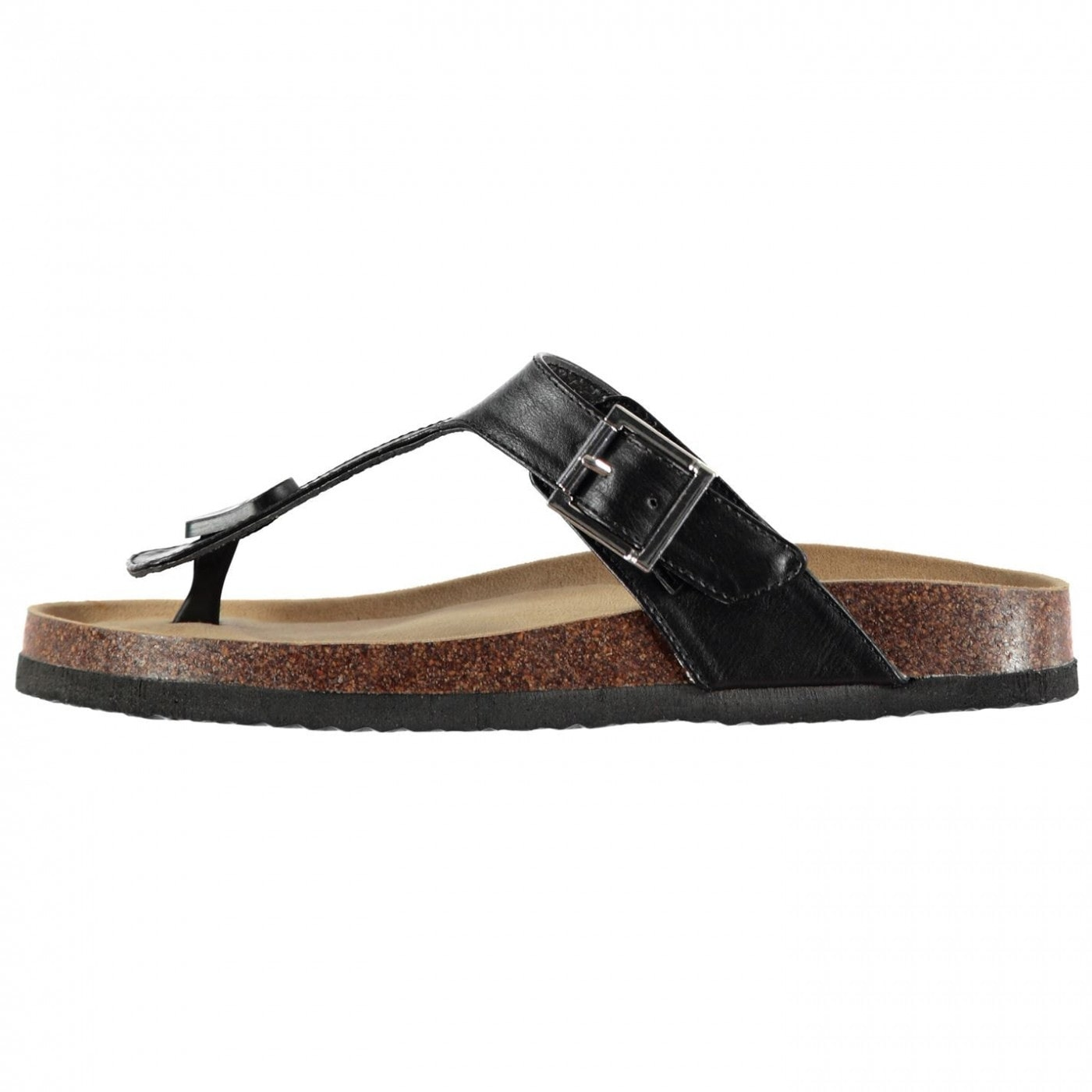 SoulCal Cork Toe Post Sandals Ladies