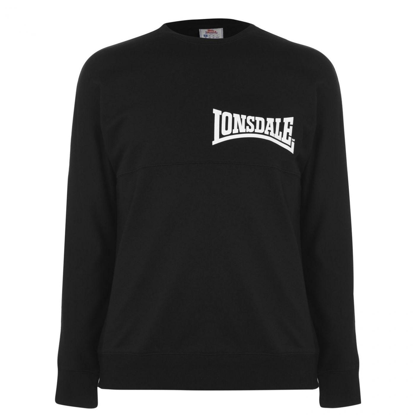 Lonsdale Japan Crew Sweatshirt Mens