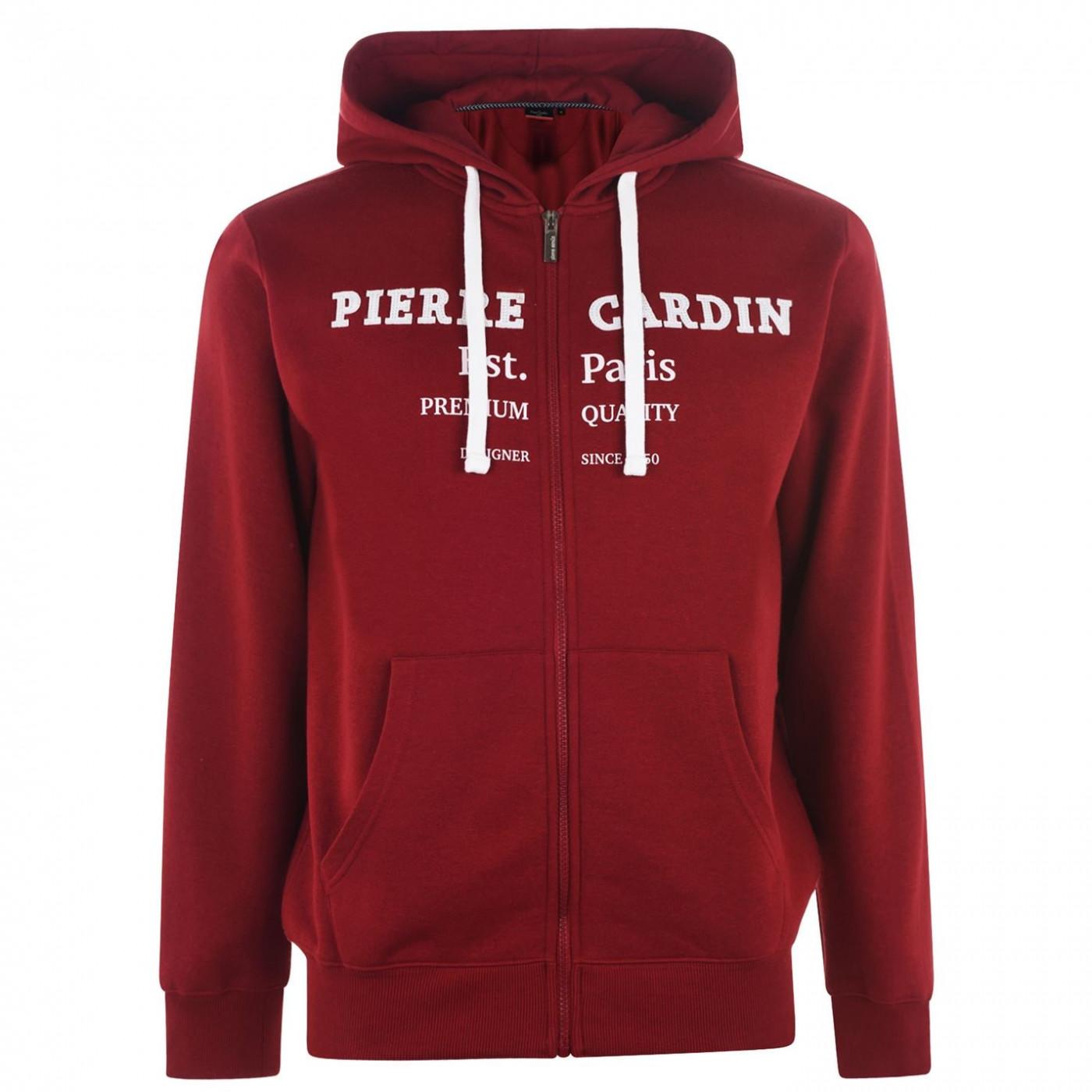 Men's hoodie Pierre Cardin Full Zip Print