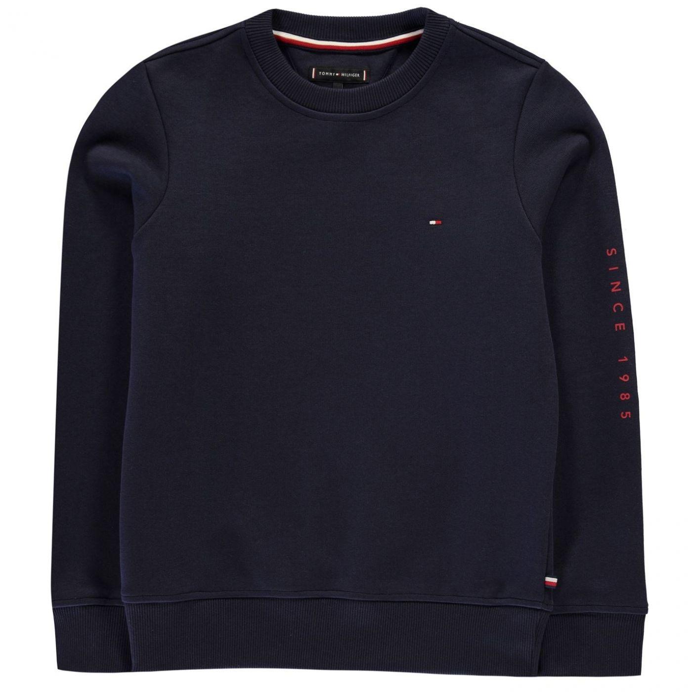 Tommy Hilfiger Interlock Crew Neck Sweatshirt