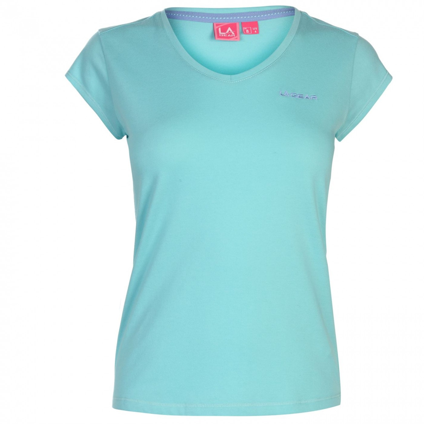 Women's T-shirt LA Gear V neck