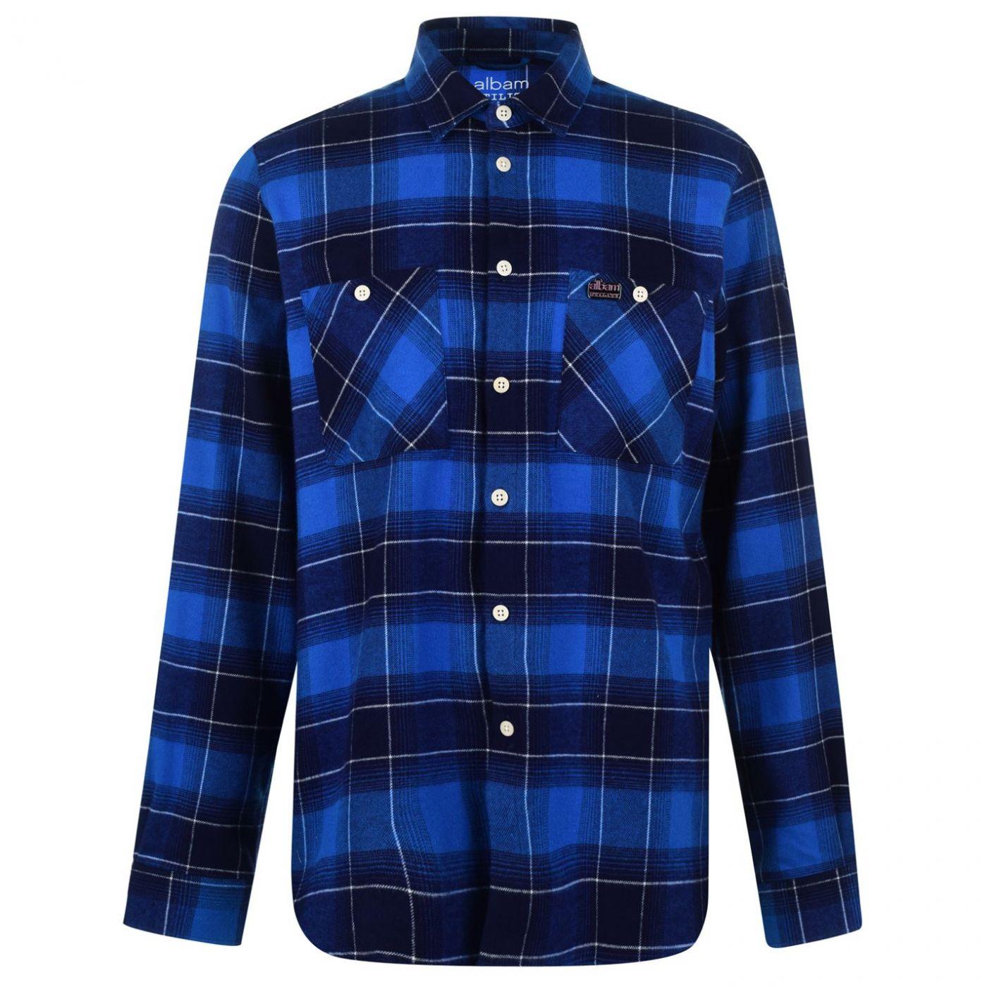 Albam Utility Check Shirt