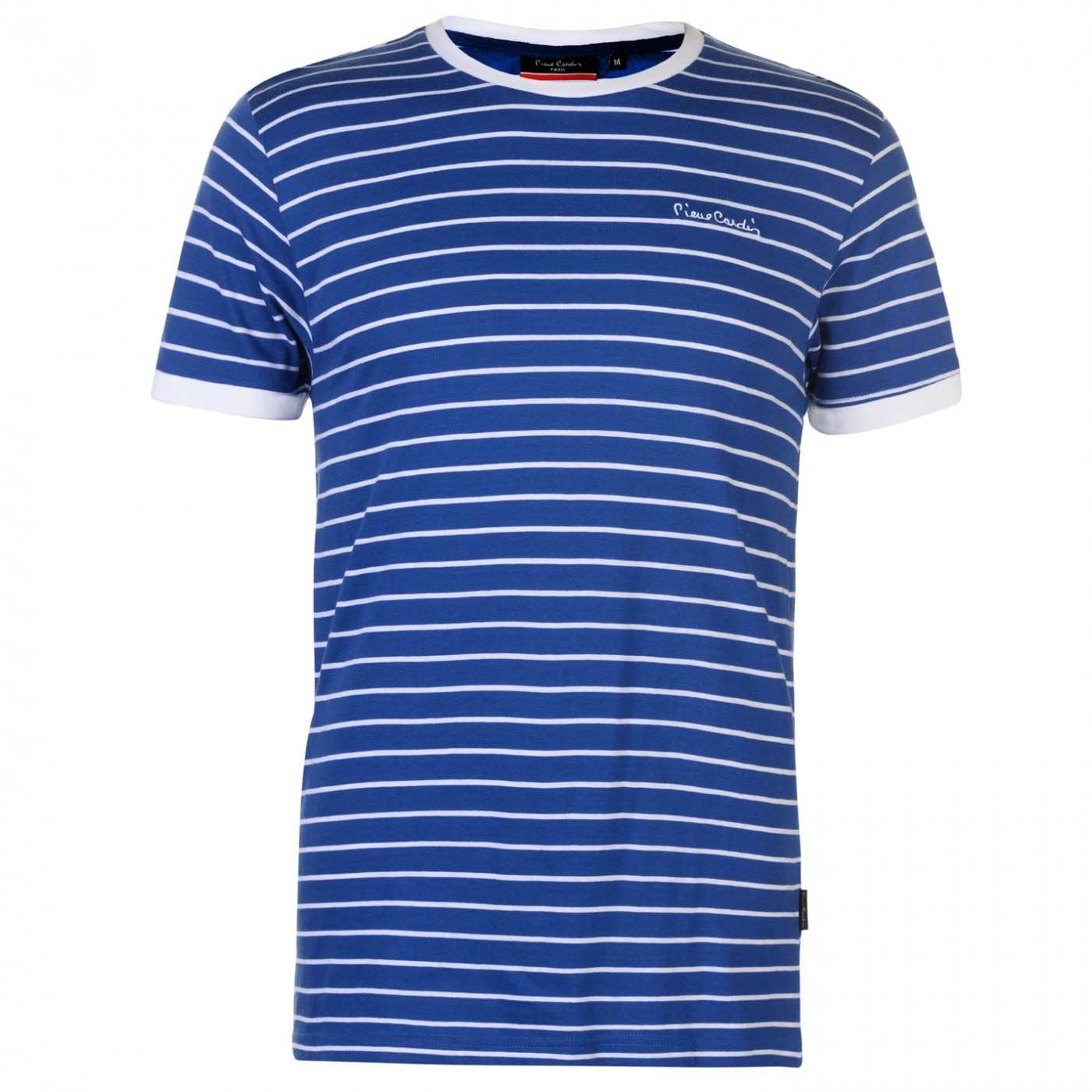 Pierre Cardin Stripe Ringer T Shirt Mens