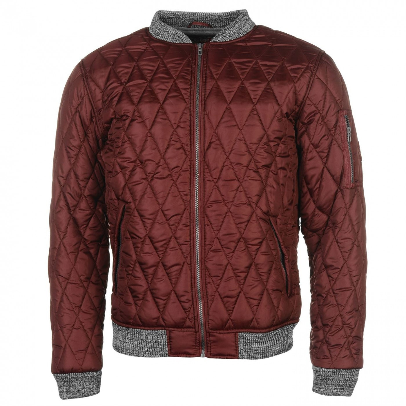 7a04eccd3 Lee Cooper Quilted Bomber Jacket Mens - FACTCOOL