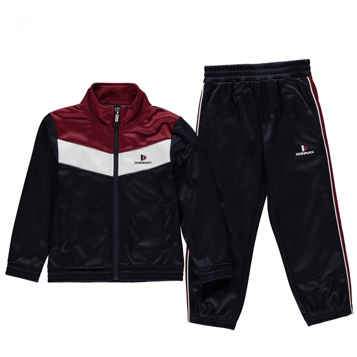 cb0c50cacc Donnay Poly Tracksuit Junior Boys - FACTCOOL