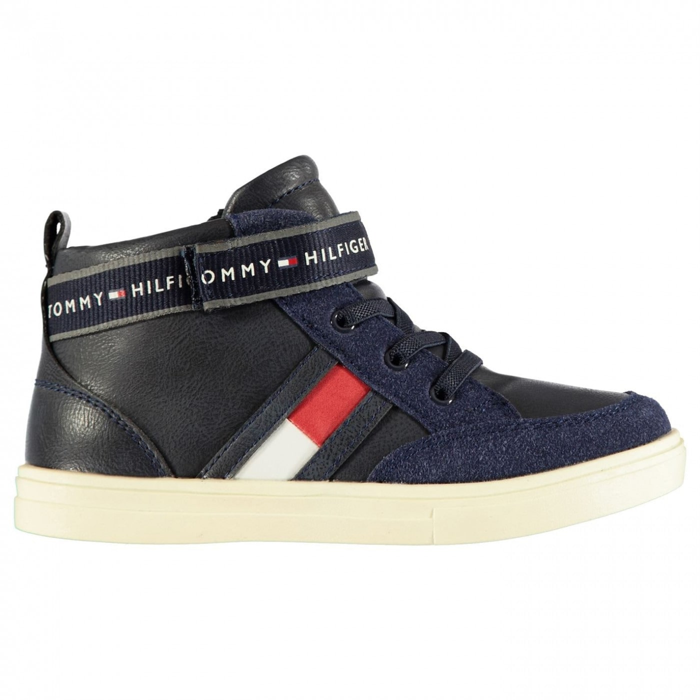 Tommy Hilfiger Strap Infant Boys High Top Trainers