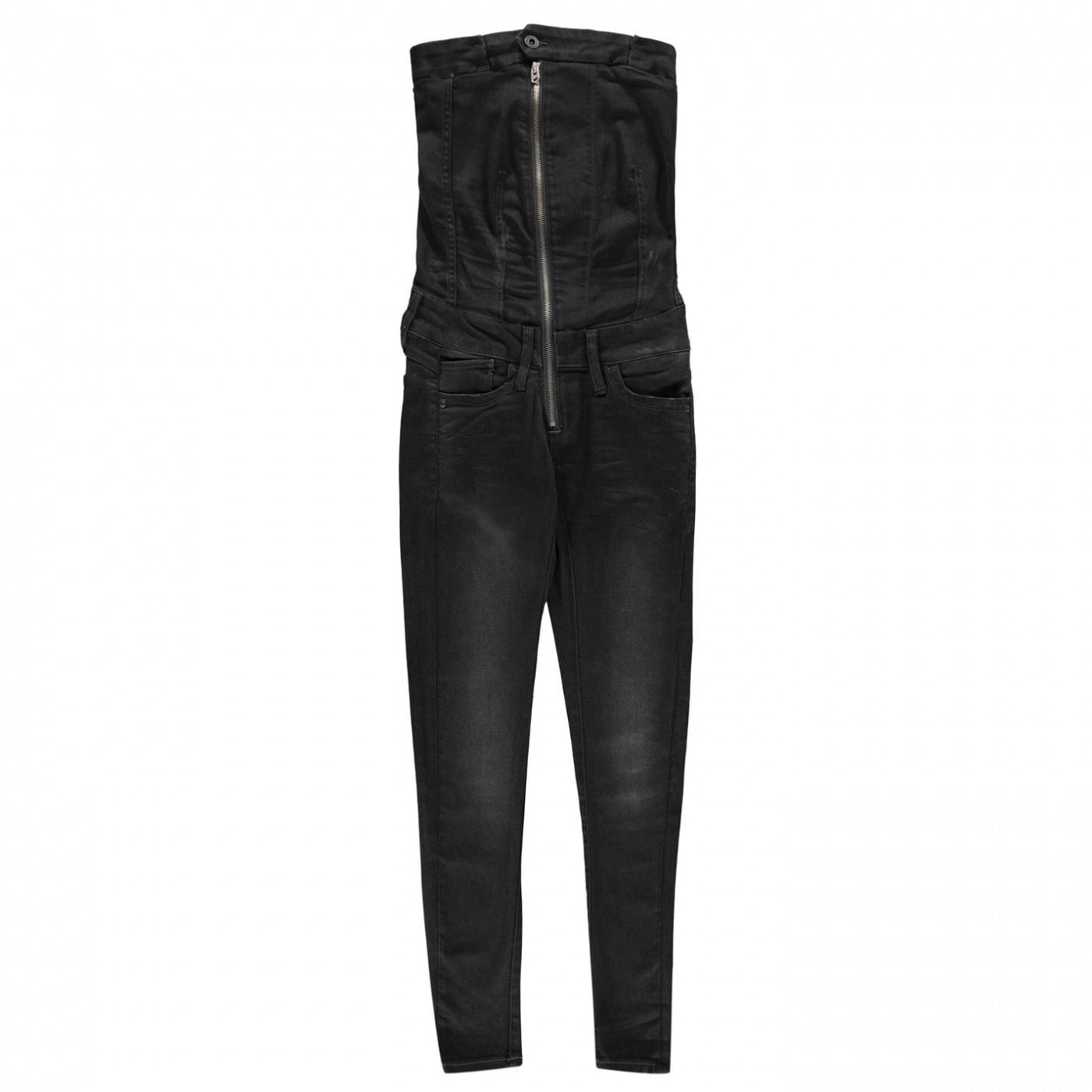 G Star Raw Lynn Zipped Slim Jumpsuit