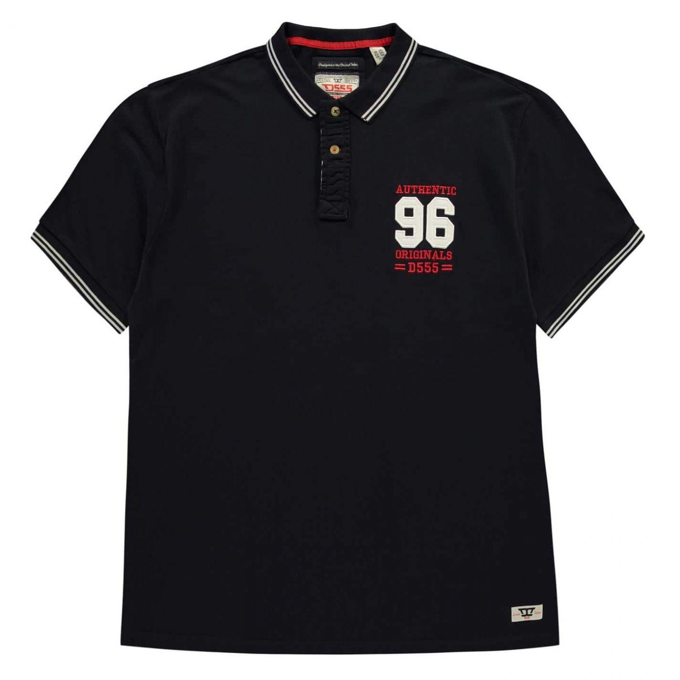 D555 Bartley Polo Shirt Mens