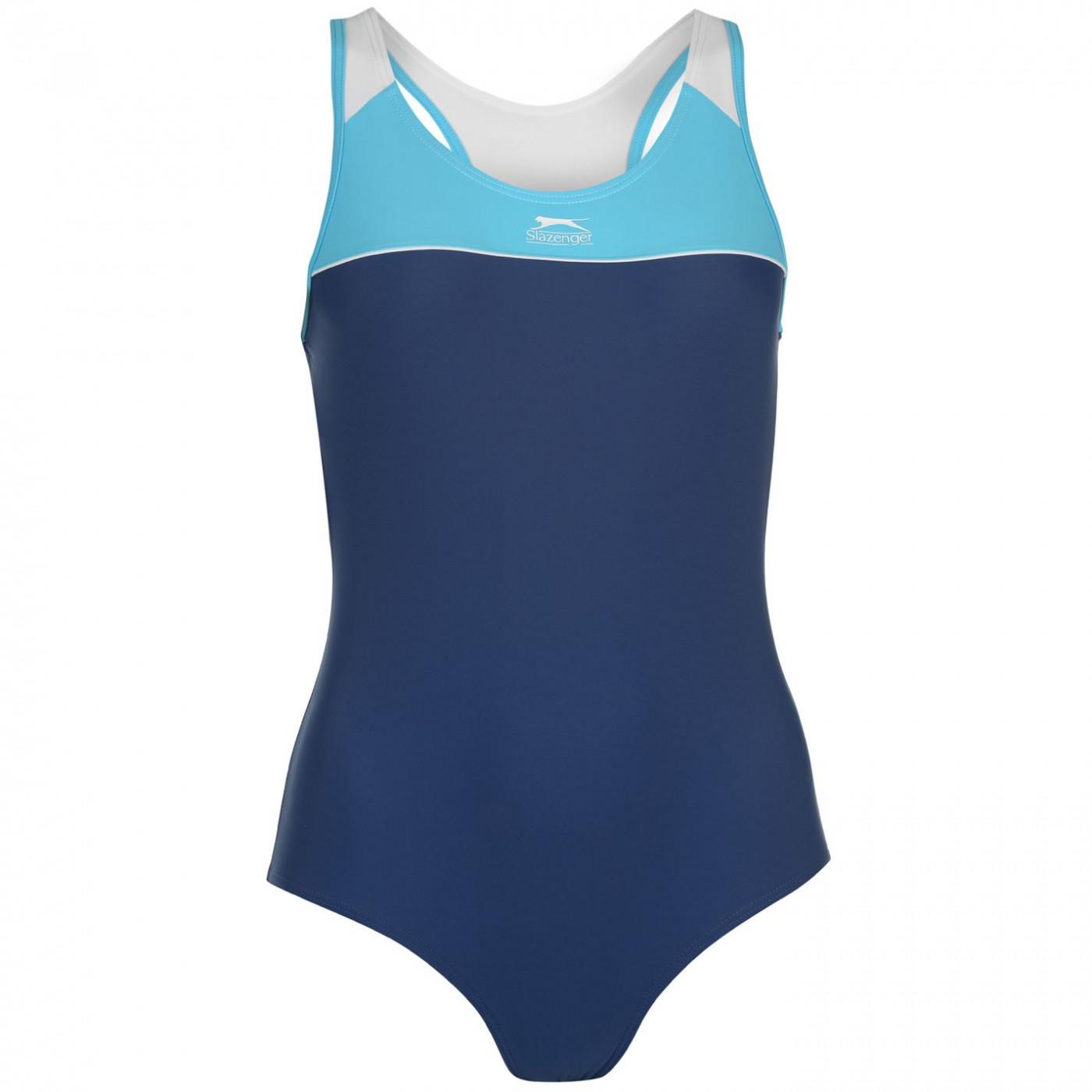 Slazenger Racer Back Swimsuit Ladies