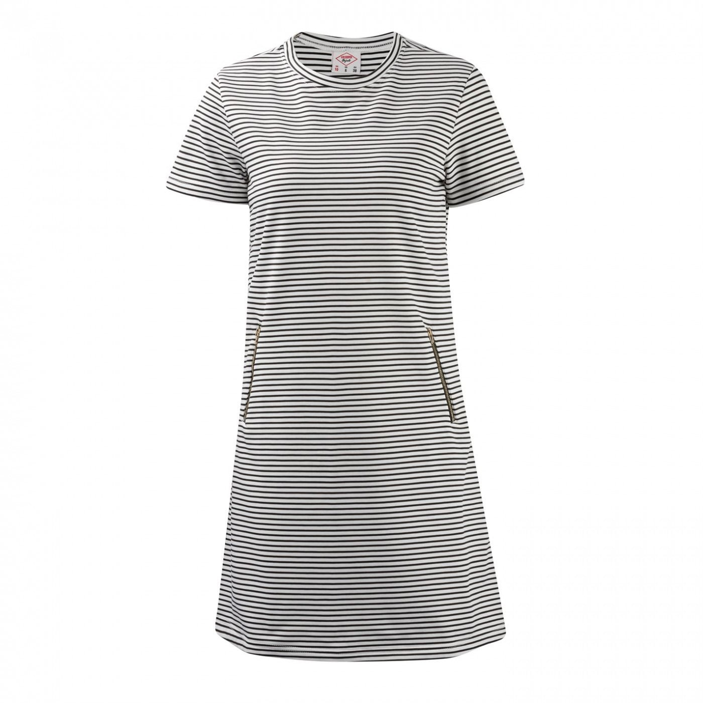 Lee Cooper Stripe Dress Ladies