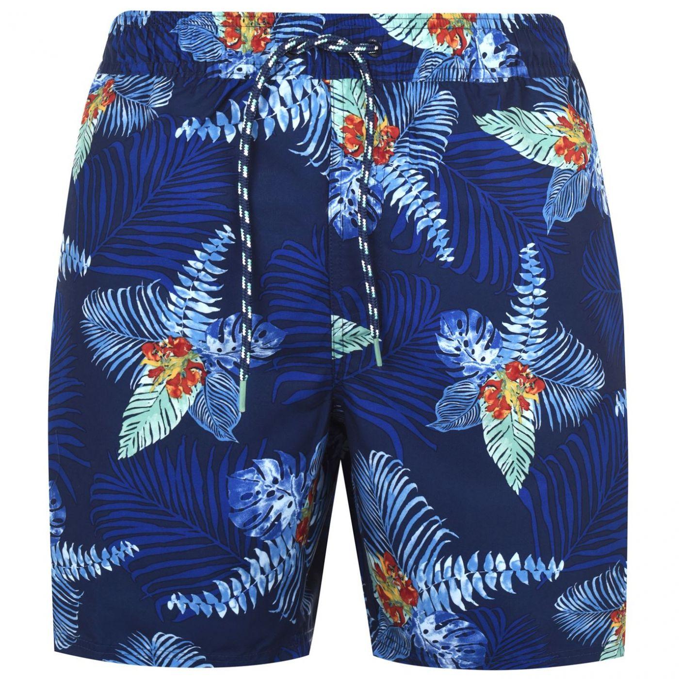 IZOD Palm Leaf Shorts