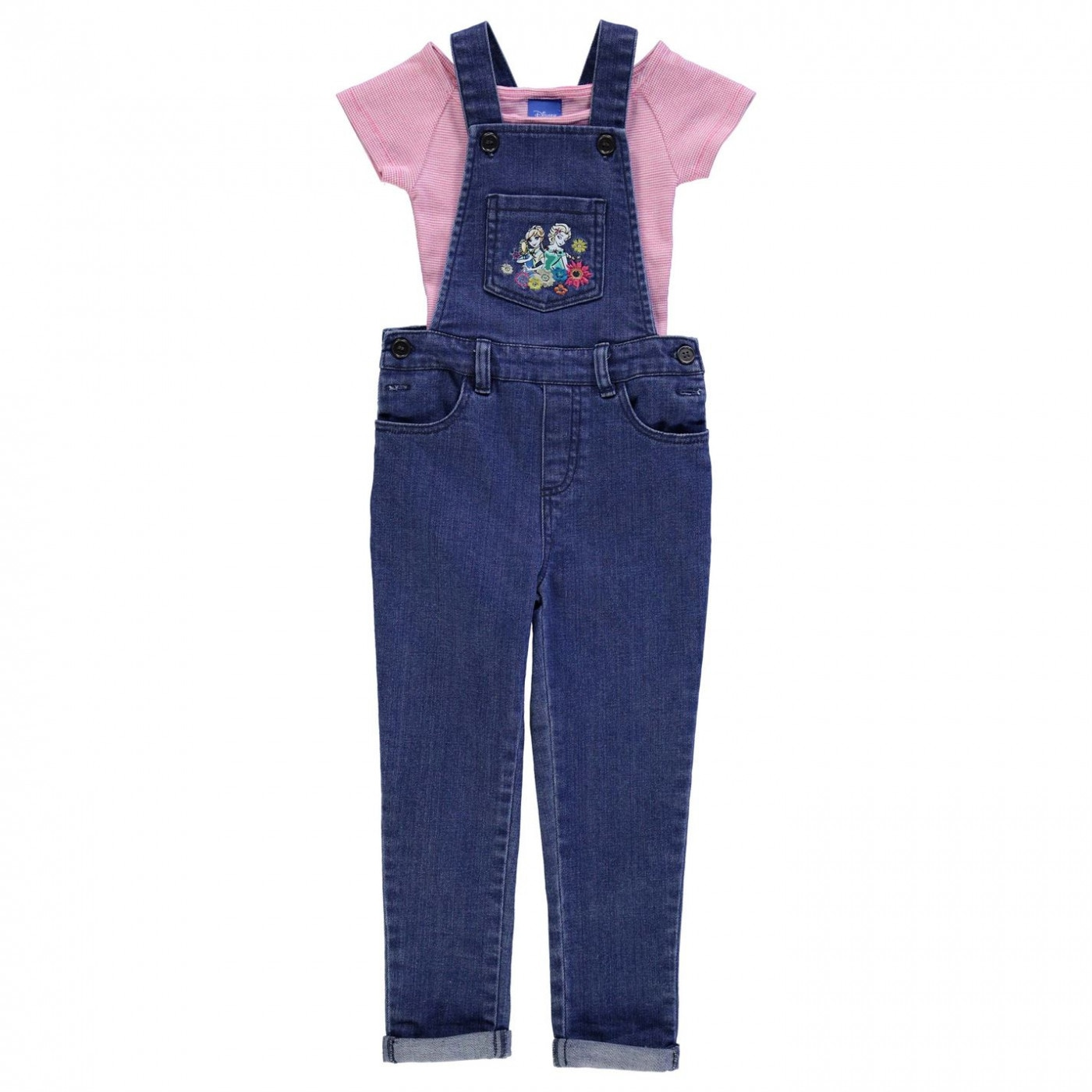Disney Dungaree Set Infant Girls