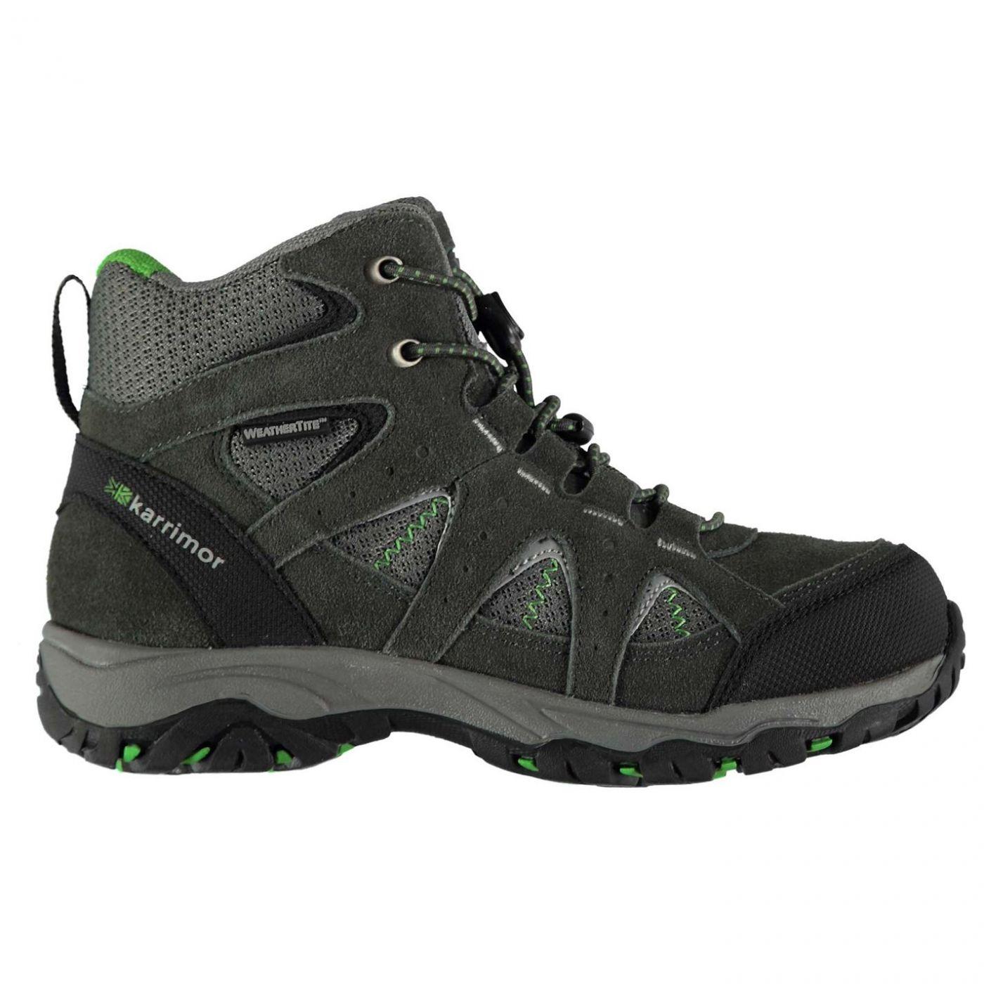 Karrimor Mount Mid Childrens Waterproof Walking Shoes
