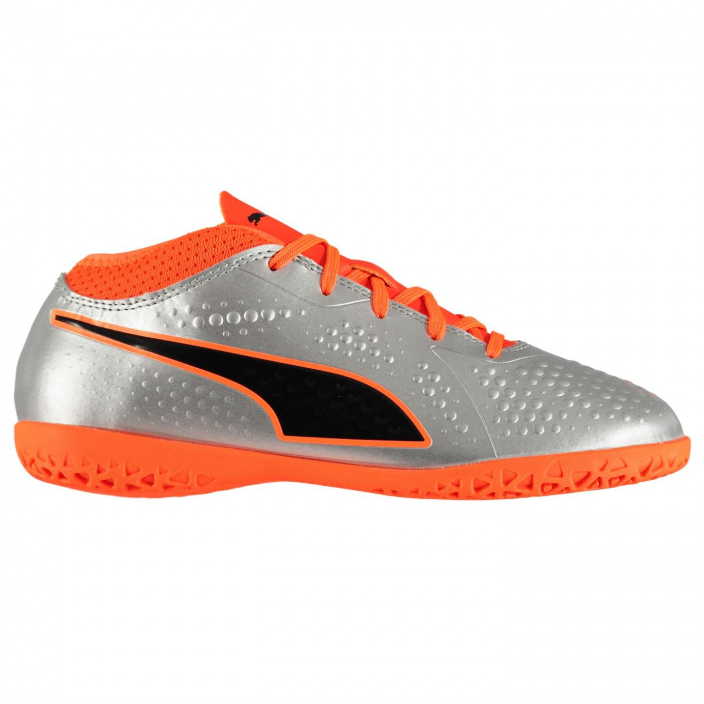 e0fed6afed84b Puma ONE 4 Junior Indoor Football Trainers - FACTCOOL