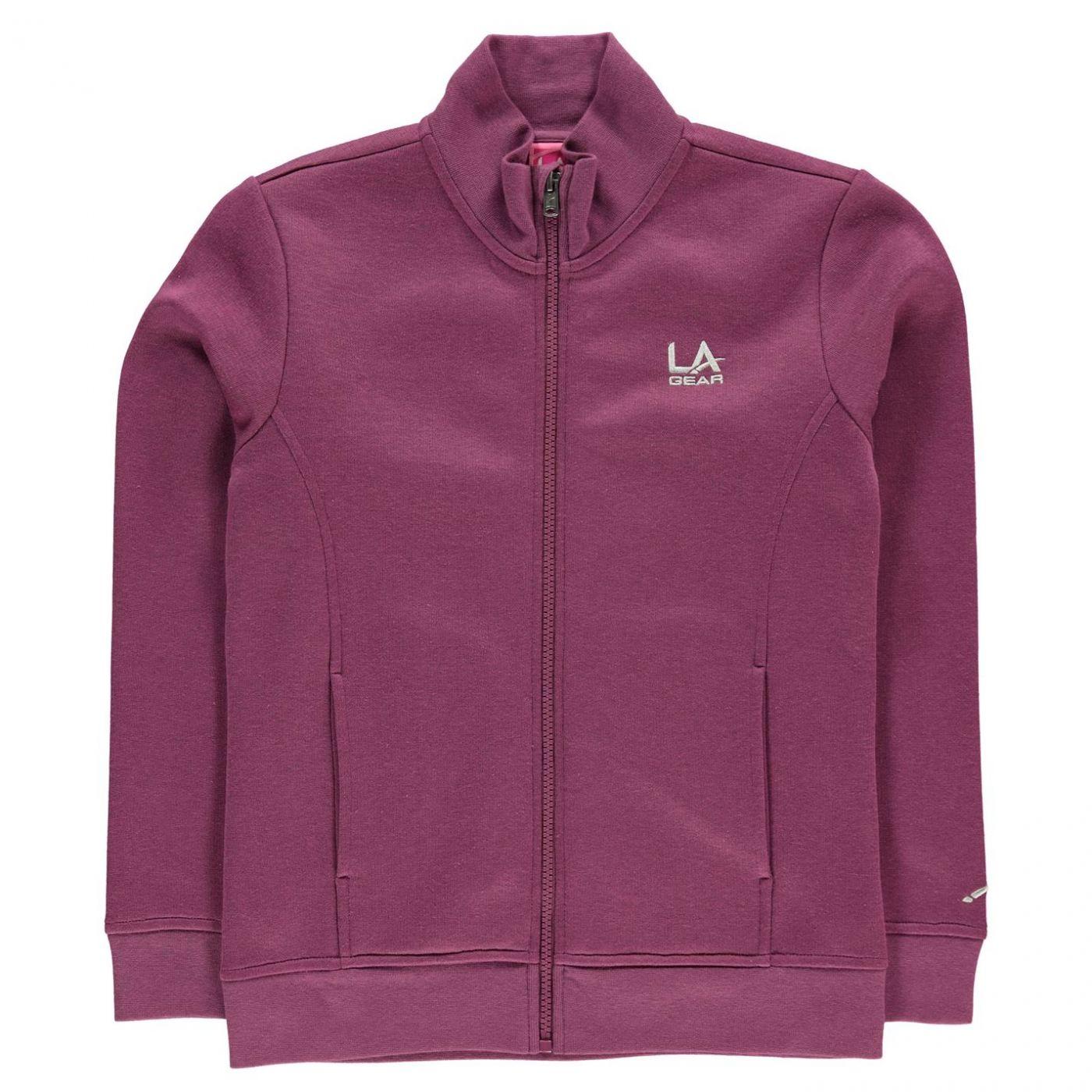 LA Gear Full Zip Fleece Girls