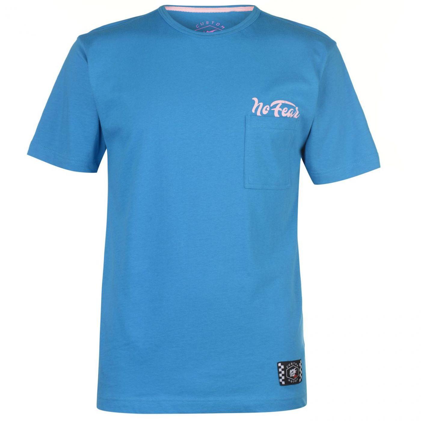 No Fear Custom Motox Detail T Shirt Mens