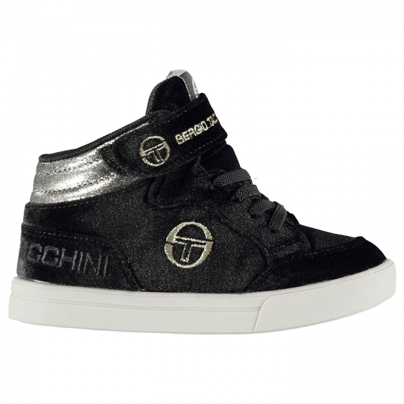 Sergio Tacchini Base Velvet Infants Hi Tops