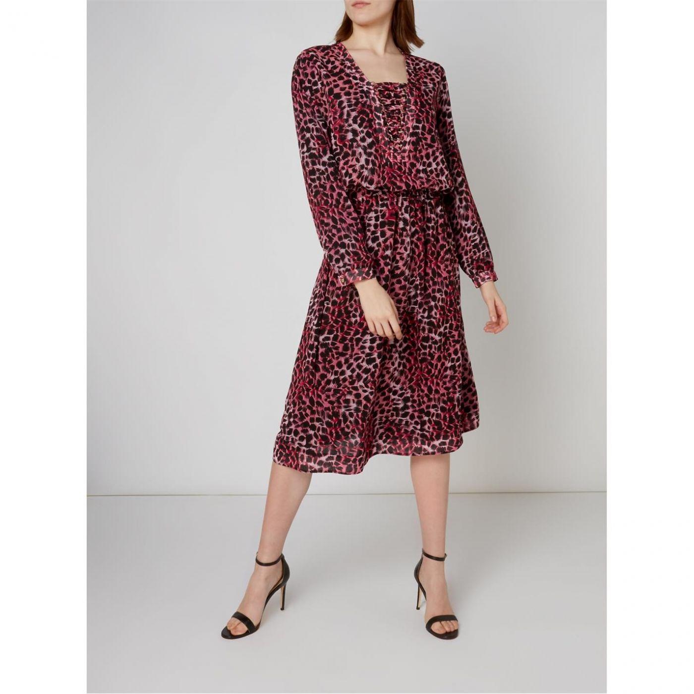 Biba Animal Print Dress